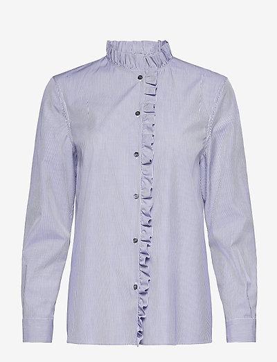 STRIPED BLOUSE - langærmede bluser - blue fantasy print
