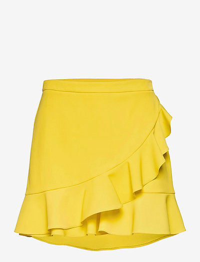 Boutique Moschino TROUSERS - casual shorts - yellow