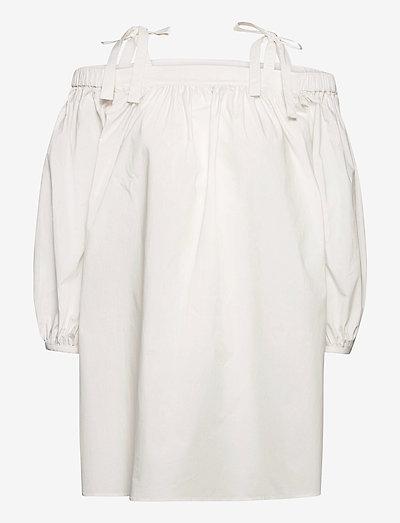 Boutique Moschino DRESS - sommerkjoler - white