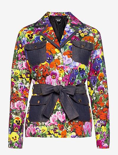 BLUMEN JACKET - casual blazere - fantasy print