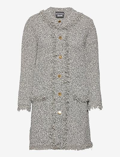 Boutique Moschino LONG JACKET - tøj - white fantasy print