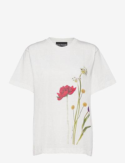 BOTANIC T-SHIRT - t-shirts - white fantasy print