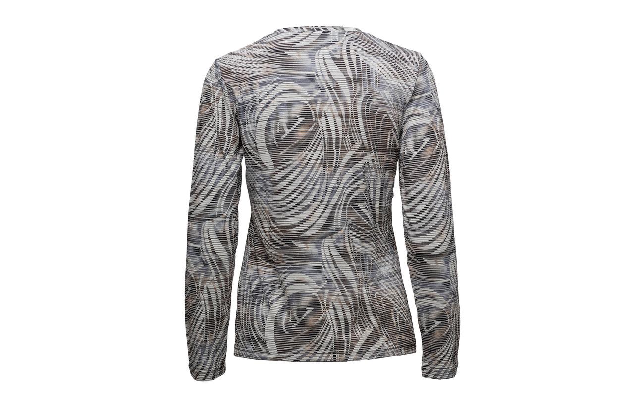 4 shirt Polyester Brandtex Elastane 48 T L s Viscose Black 8q6Zwq