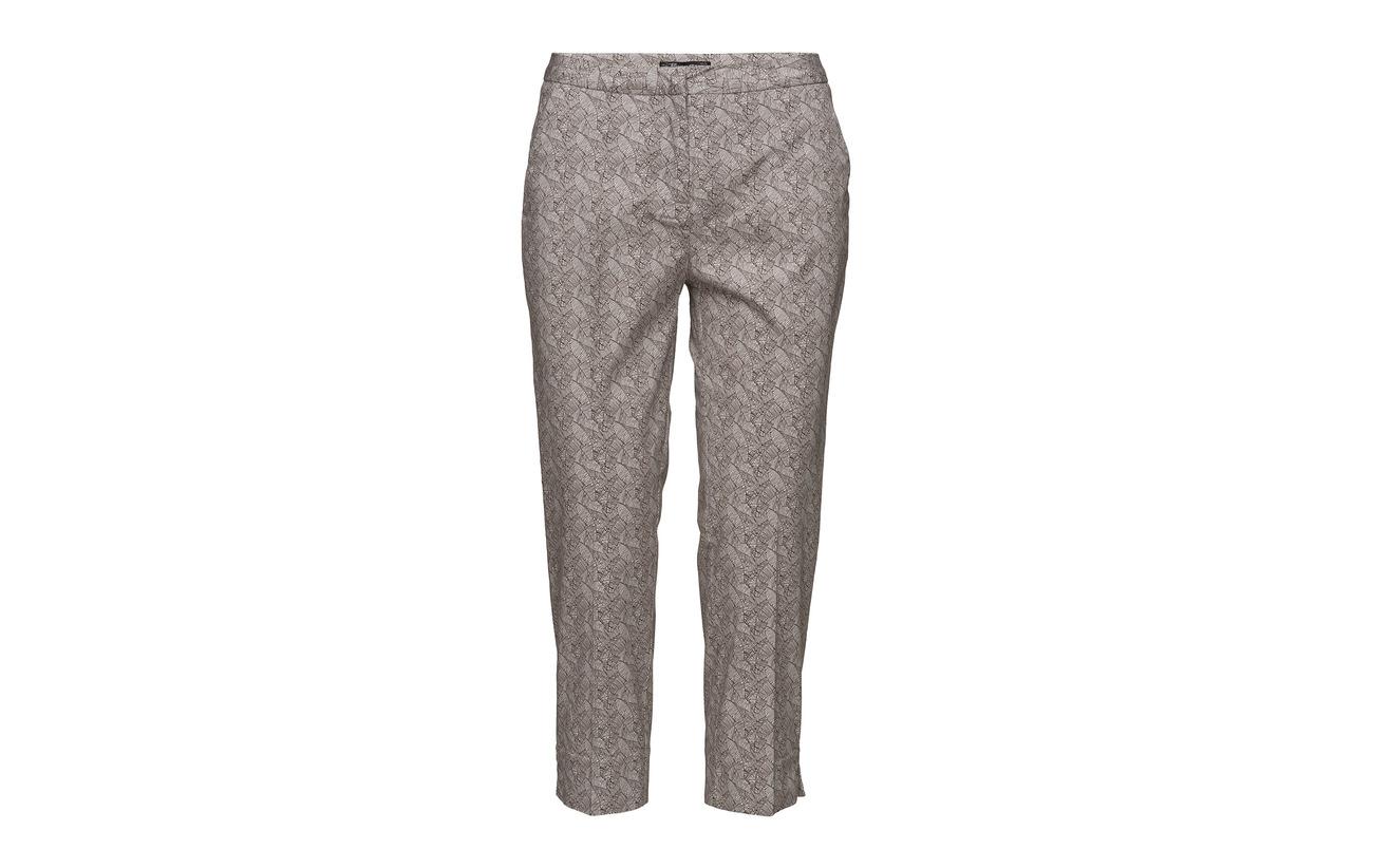 Pants 3 Coton 97 Elastane Blue Brandtex Midnight Capri g58wB8