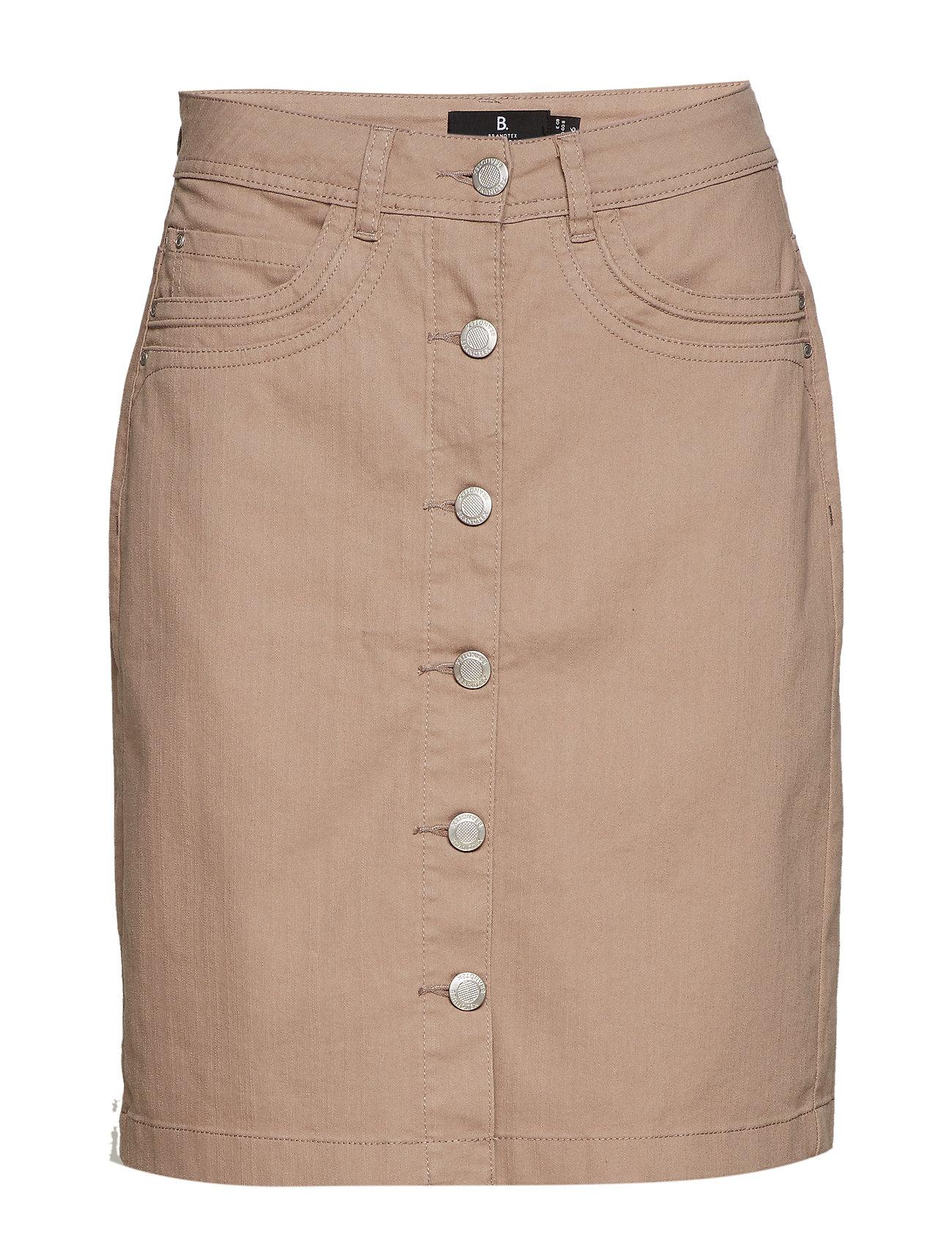 Brandtex Casual skirt - STONE