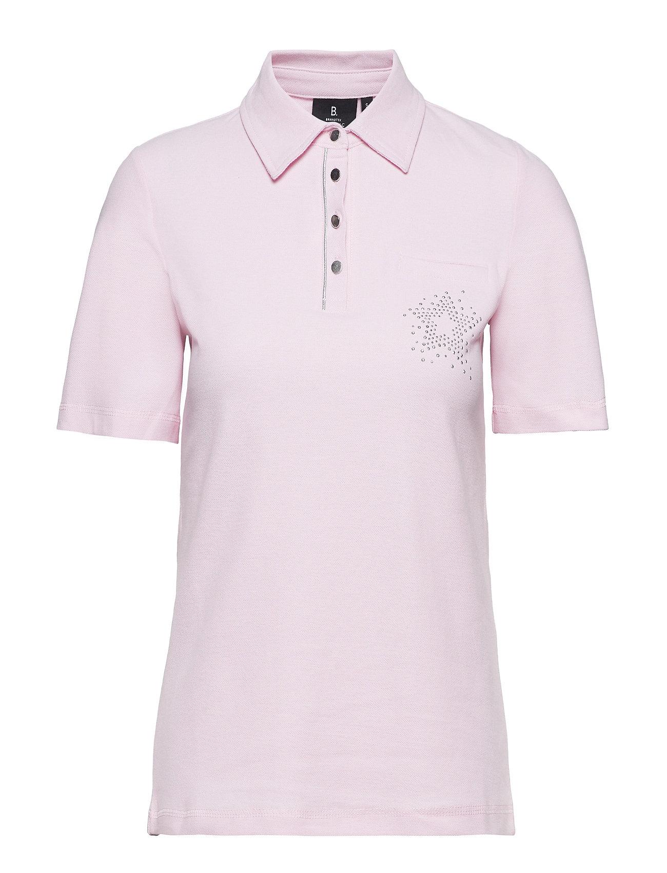 Brandtex Polo Shirt - PEARL ROSE