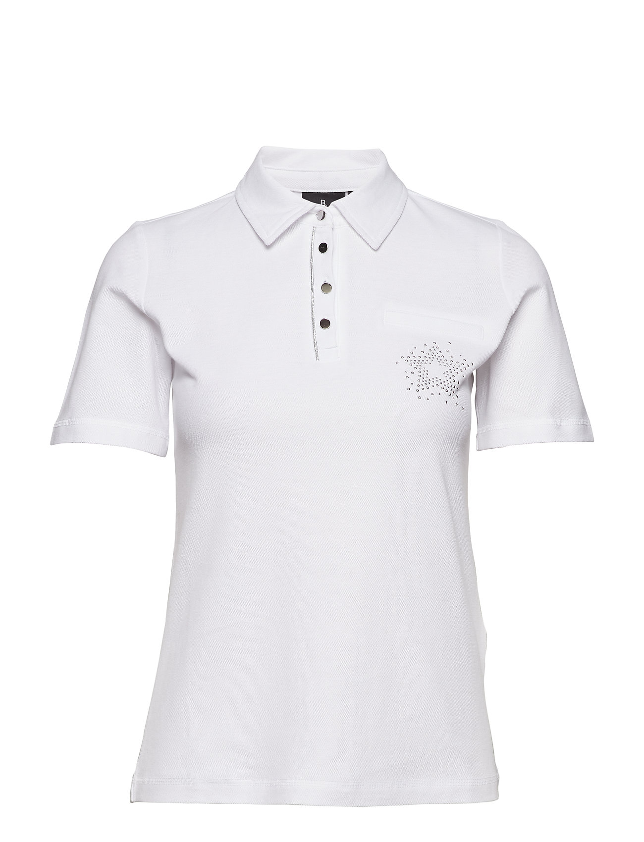 Image of Polo Shirt T-Shirts & Tops Polo-Skjorte Hvid BRANDTEX (3109949721)