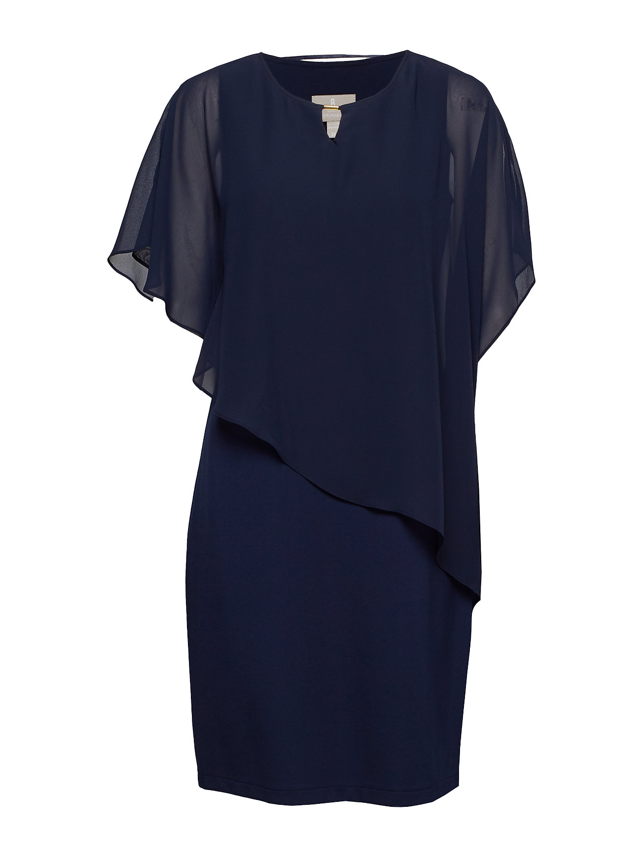 Brandtex Dress-knitted - NAVY
