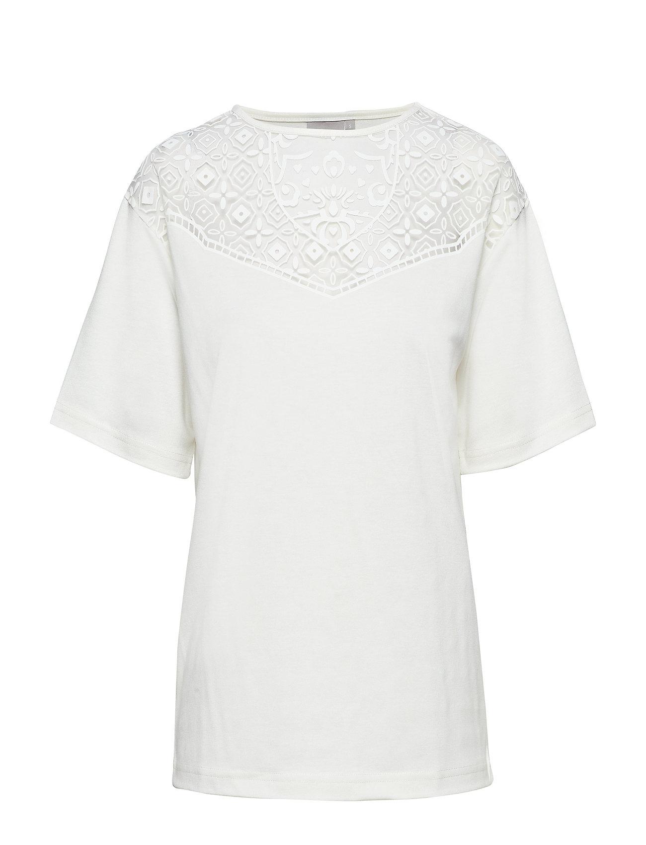 Brandtex T-shirt l/s - OFFWHITE