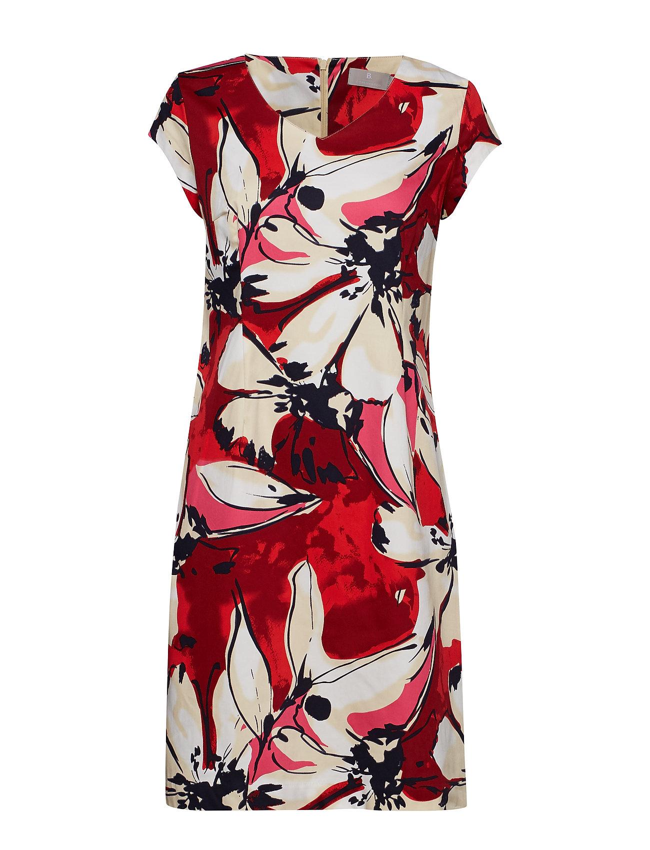 Brandtex Suiting dress - FIESTA RED