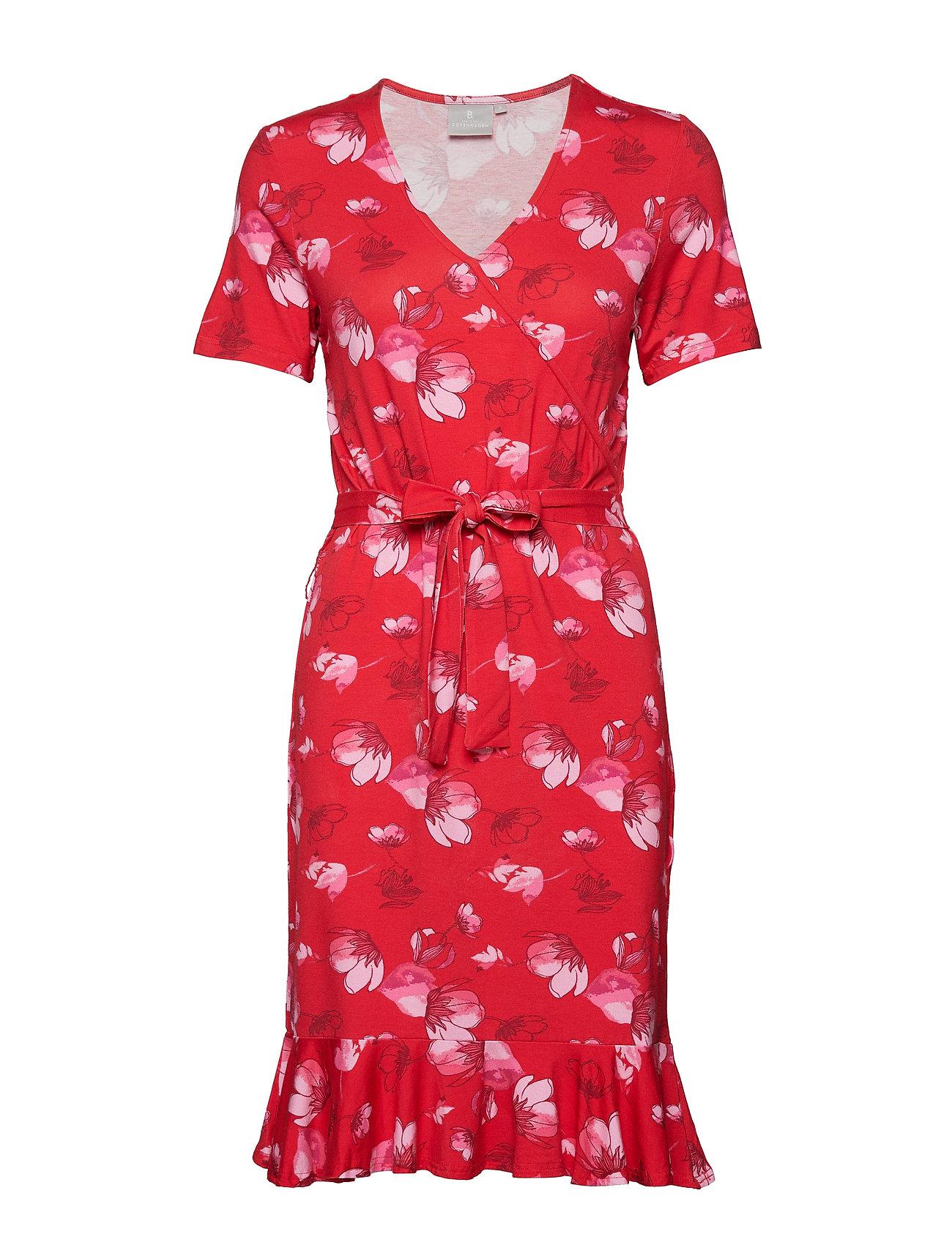 Brandtex Dress-jersey - FIESTA RED