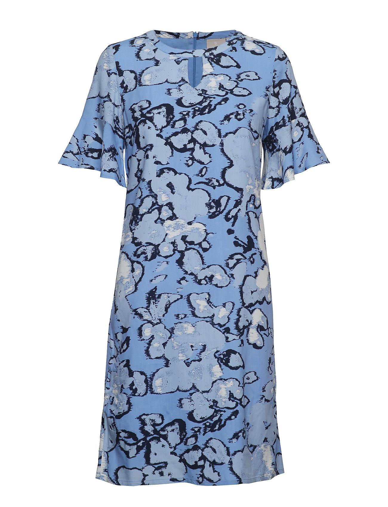 Brandtex Dress-light woven - RIVIERA BLUE