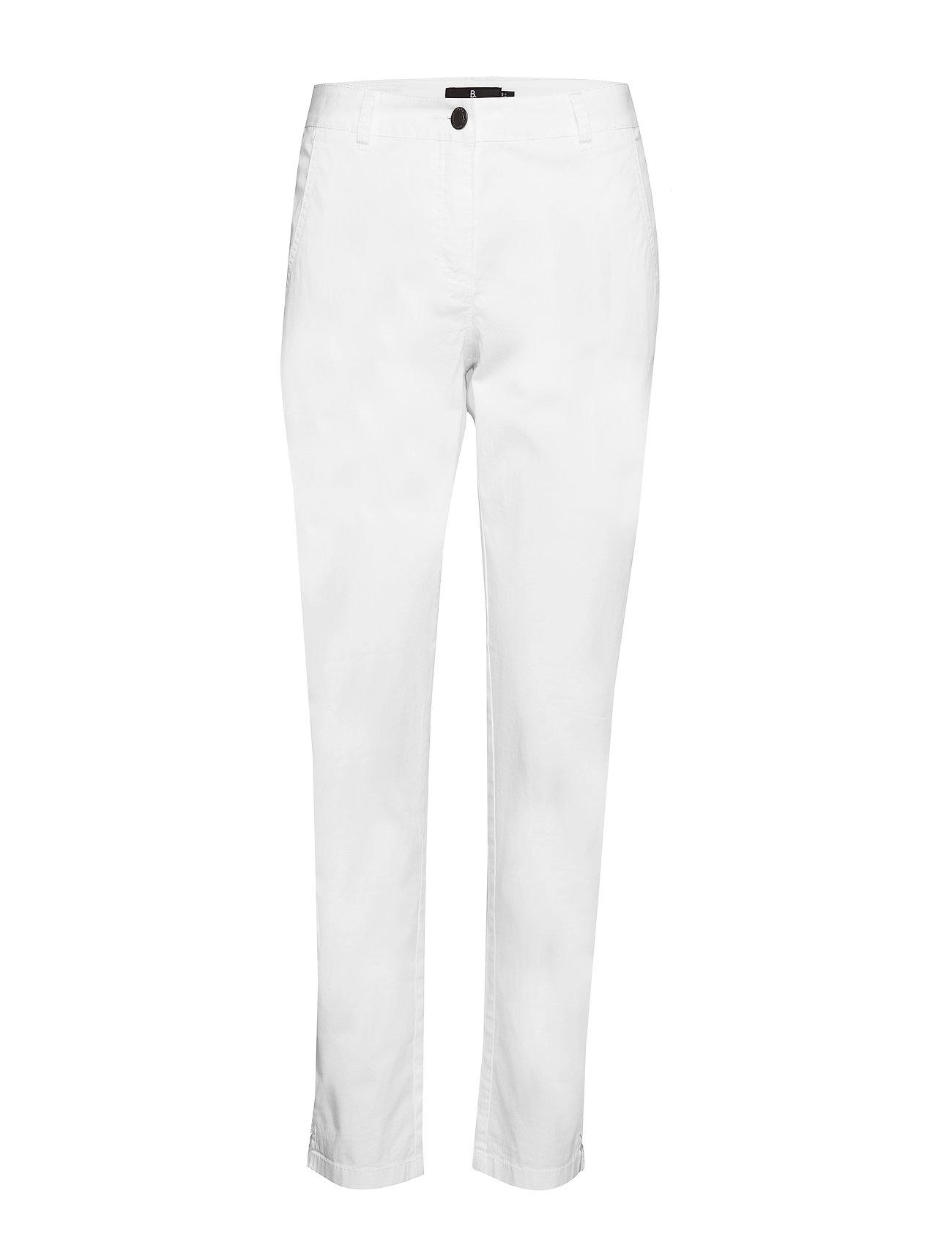 Brandtex Casual pants - WHITE