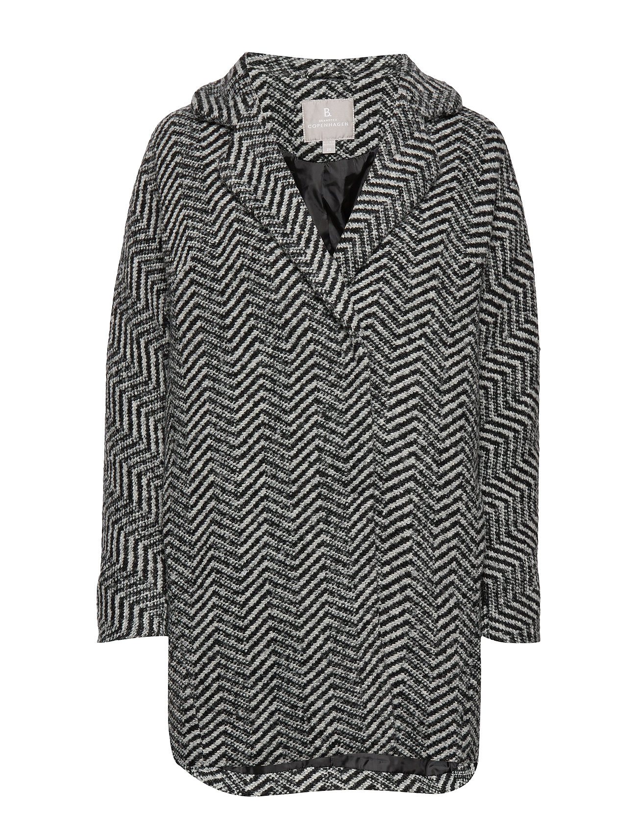 Brandtex Coat Outerwear Heavy - BLACK