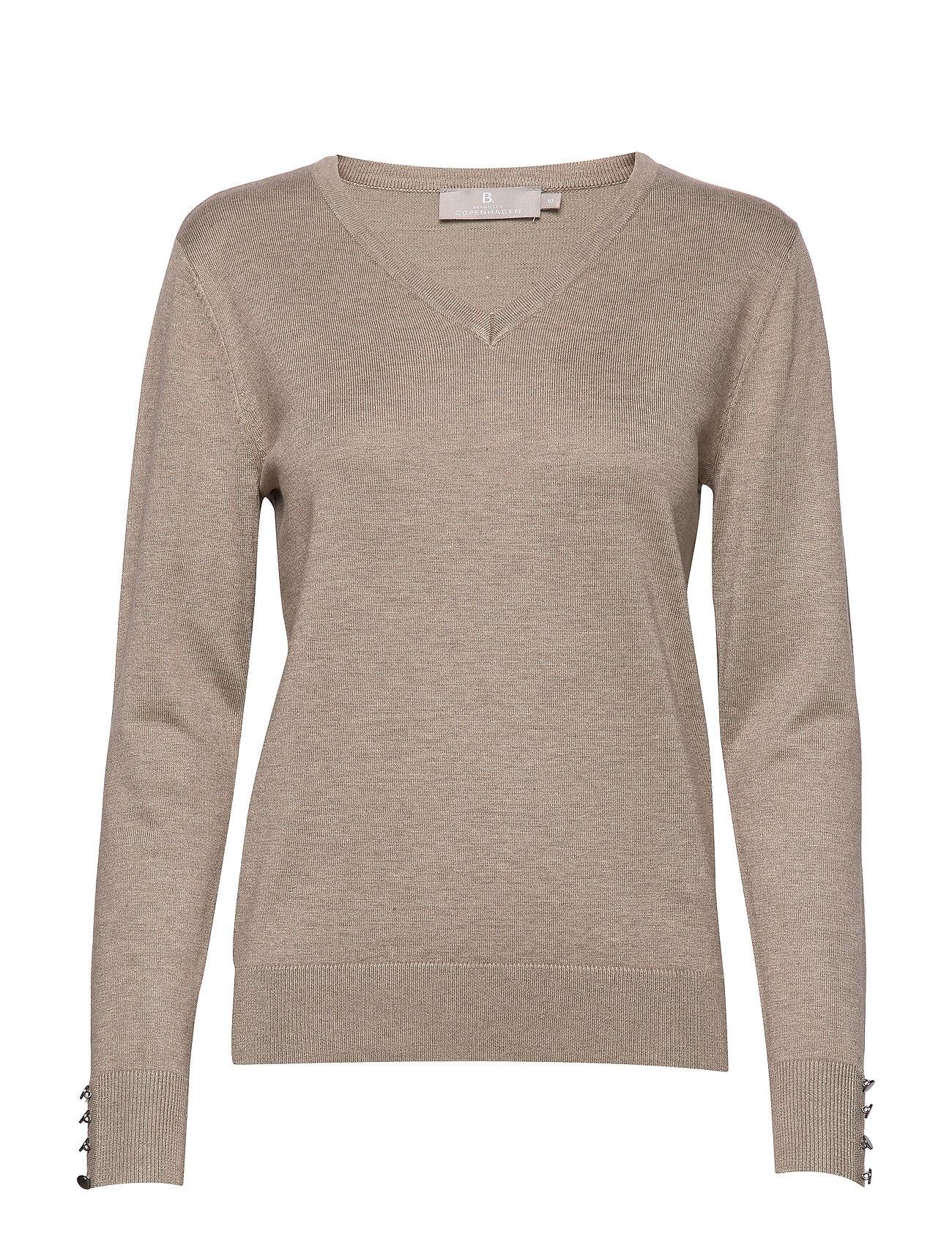 Brandtex Pullover-knit Light - CAMEL MELANGE