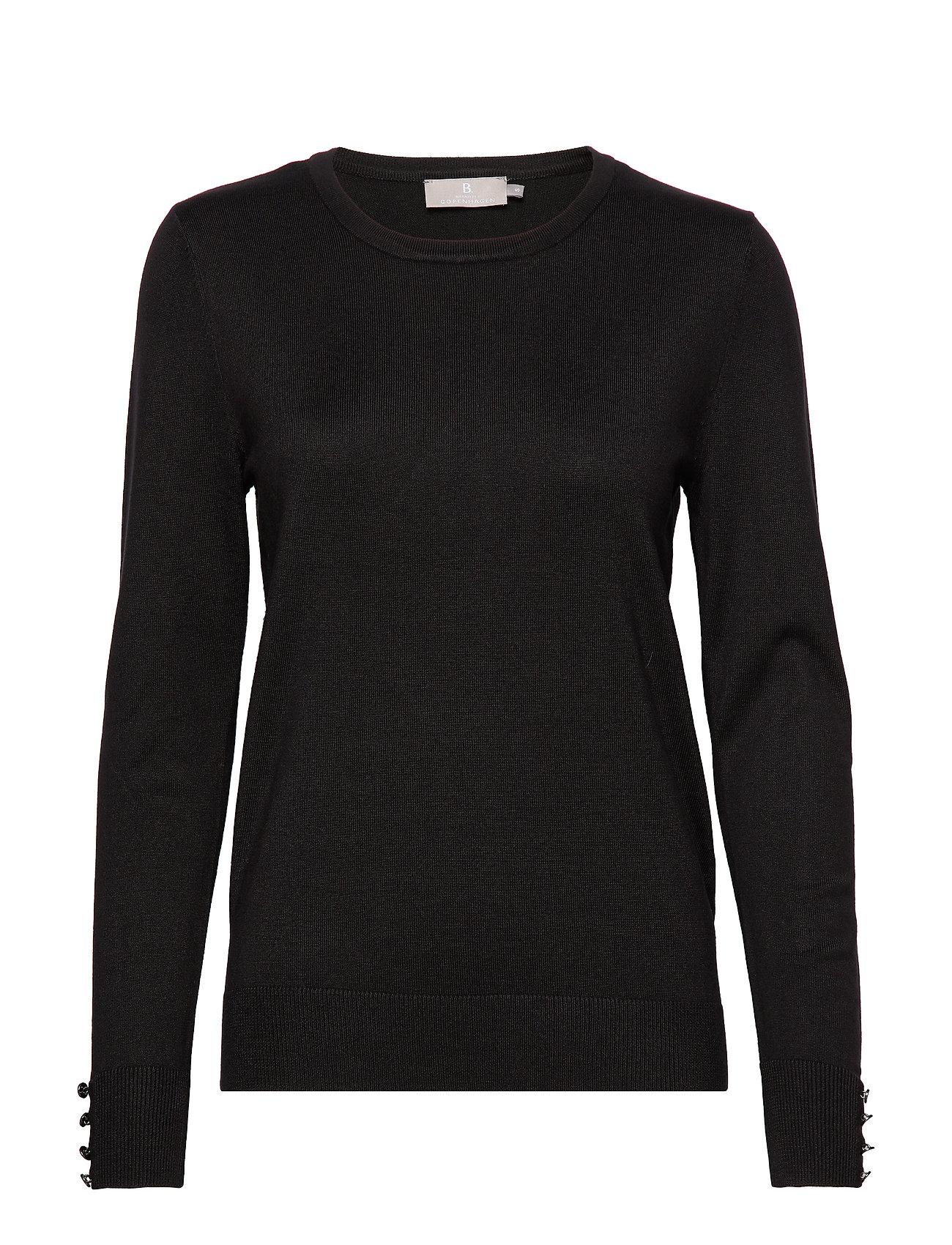 Brandtex Pullover-knit Light - BLACK