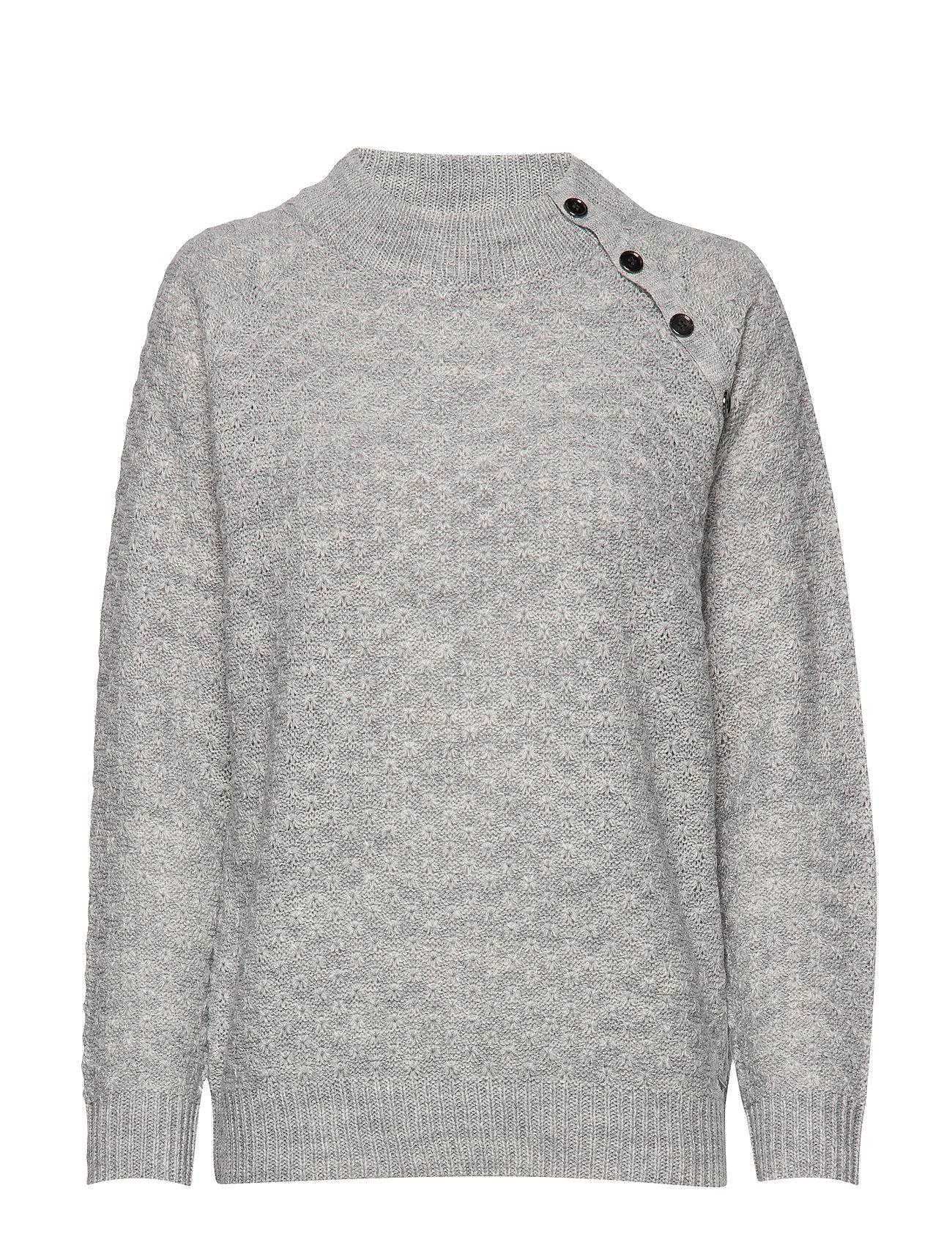 Brandtex Pullover-knit Heavy - LIGHT GREY MELANGE