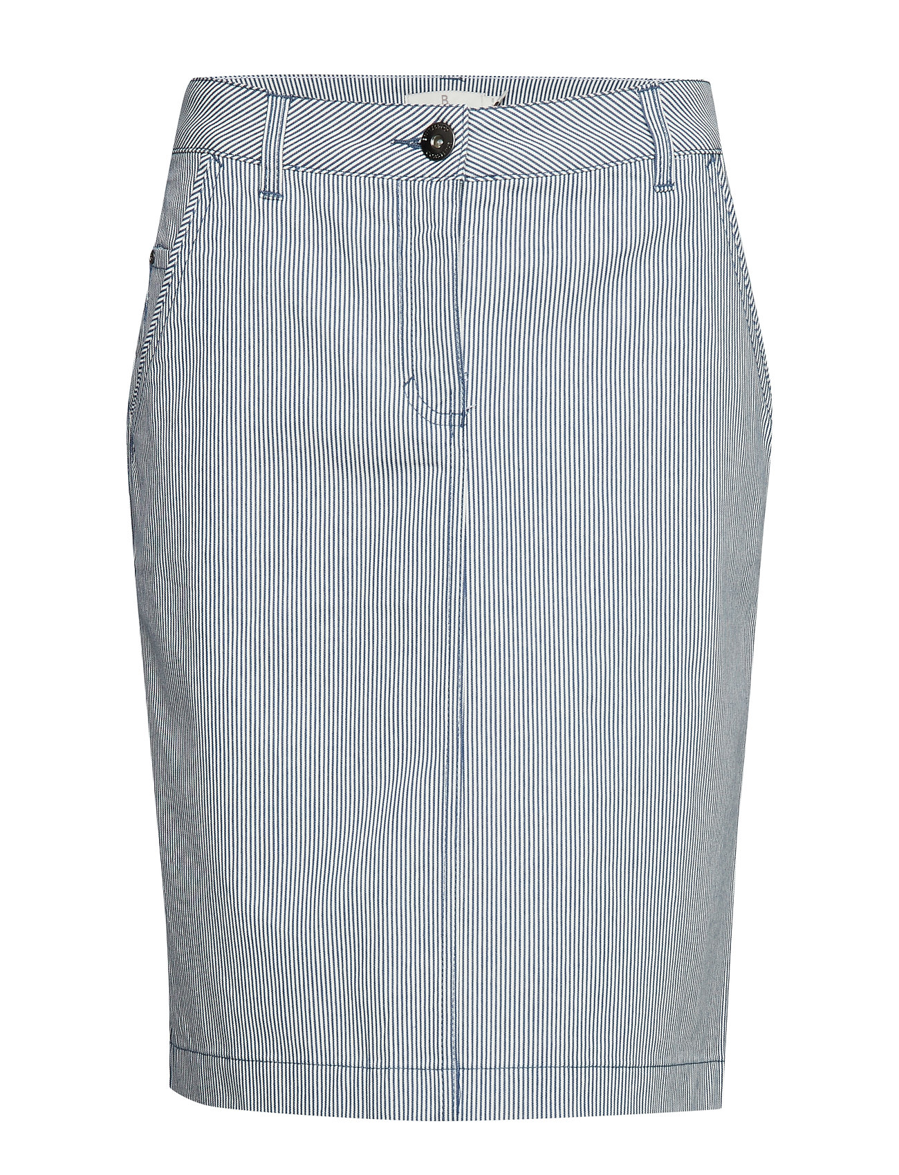 Brandtex Casual skirt - DENIM LIGHT BLUE