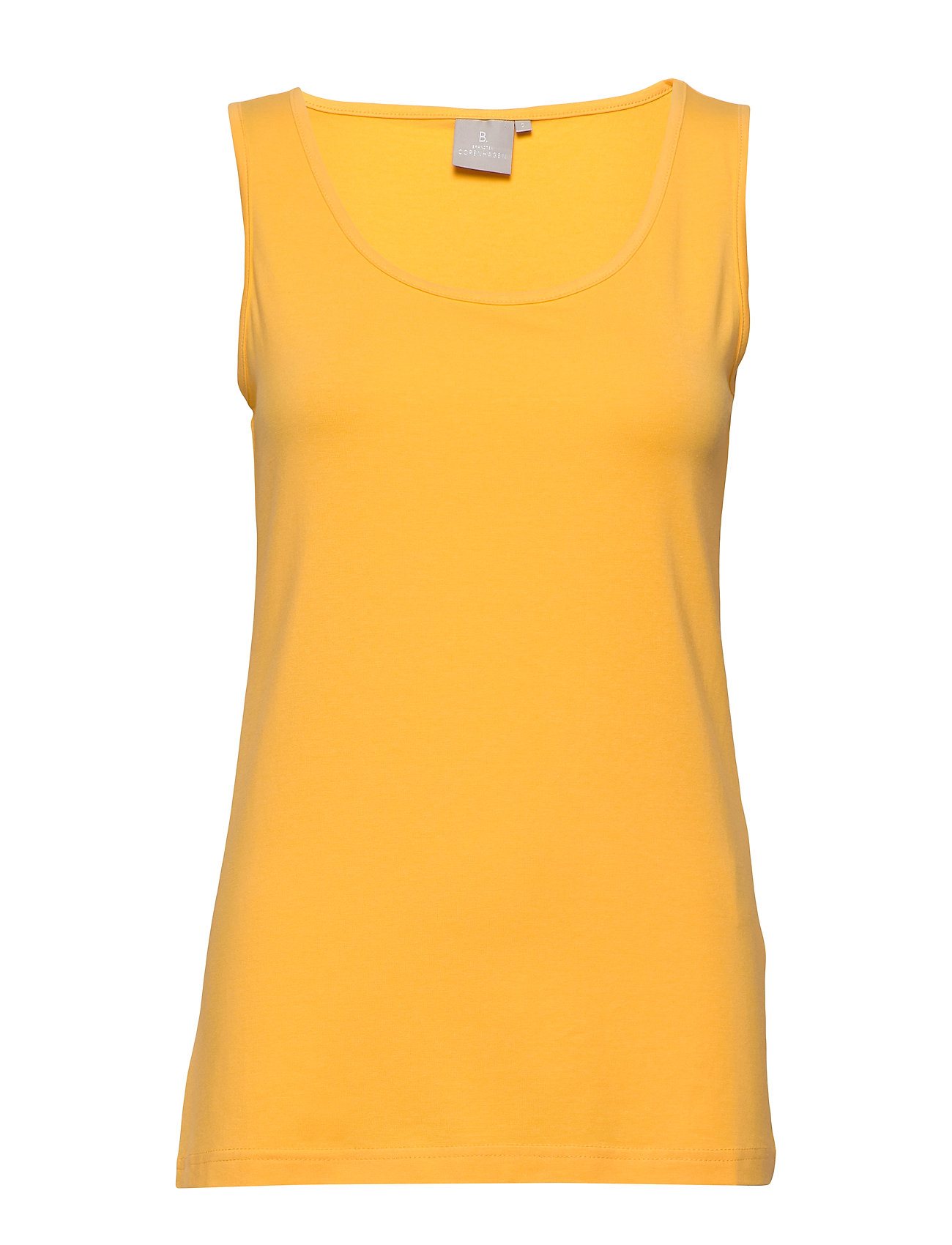 Image of Sleeveless-Jersey Top Ærmeløs Top Gul Brandtex (3347376695)