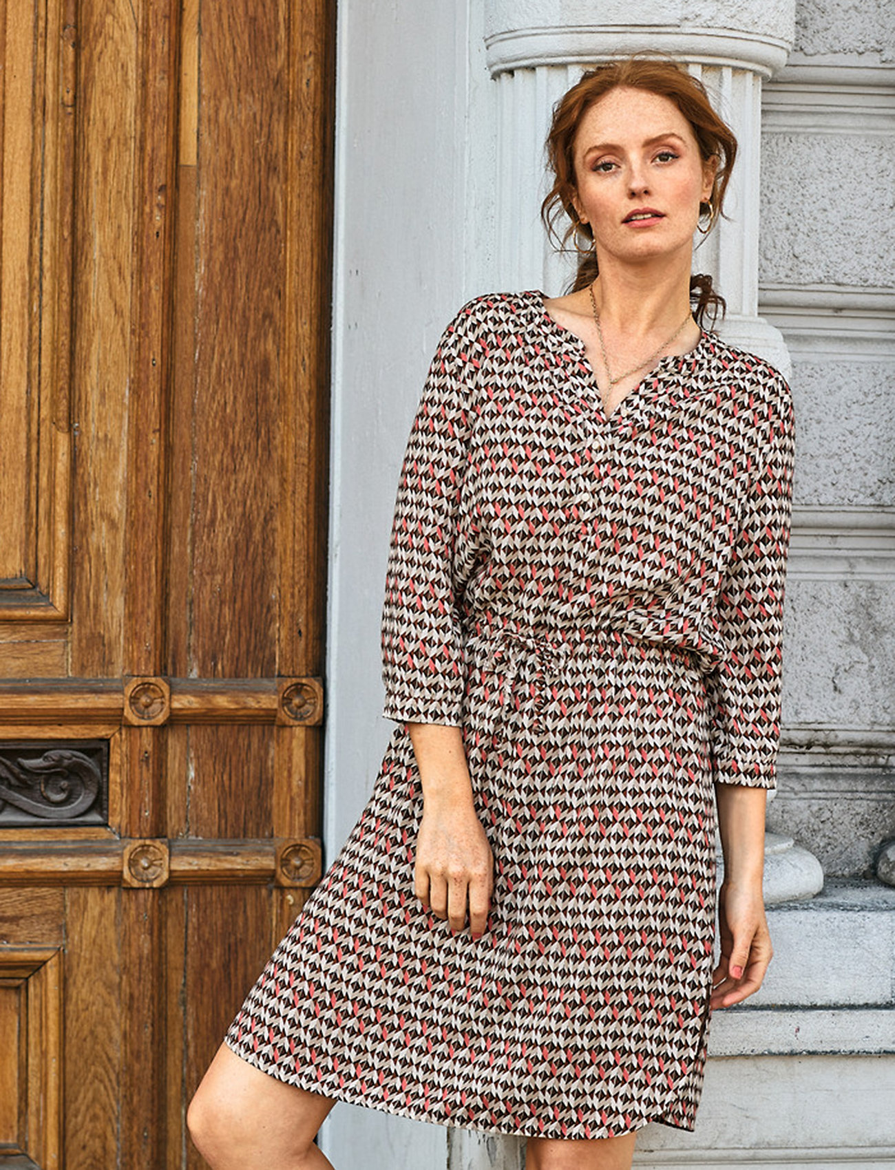 Brandtex - Dress-light woven - sommerkjoler - faded rose - 0
