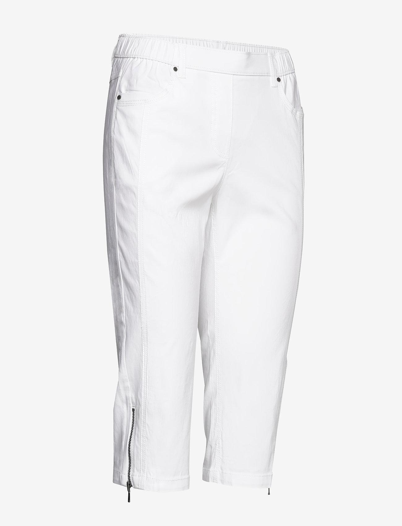Brandtex Capri pants - Spodnie WHITE - Kobiety Odzież.