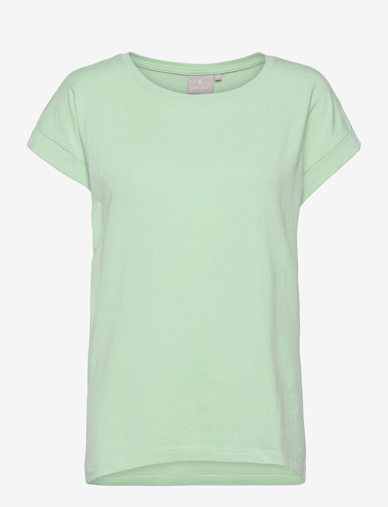 Brandtex - T-shirt s/s - t-shirts - lichen - 0
