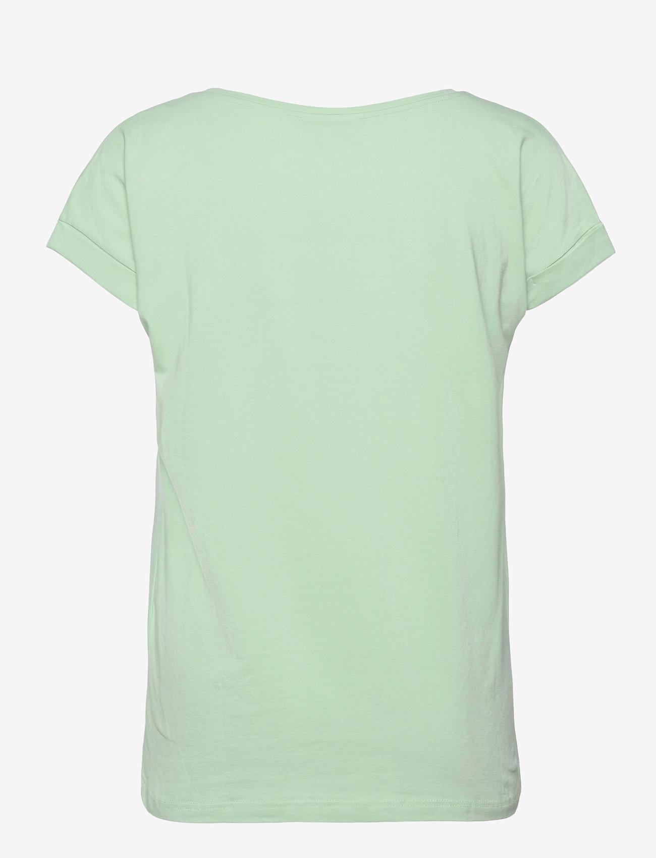 Brandtex - T-shirt s/s - t-shirts - lichen - 1