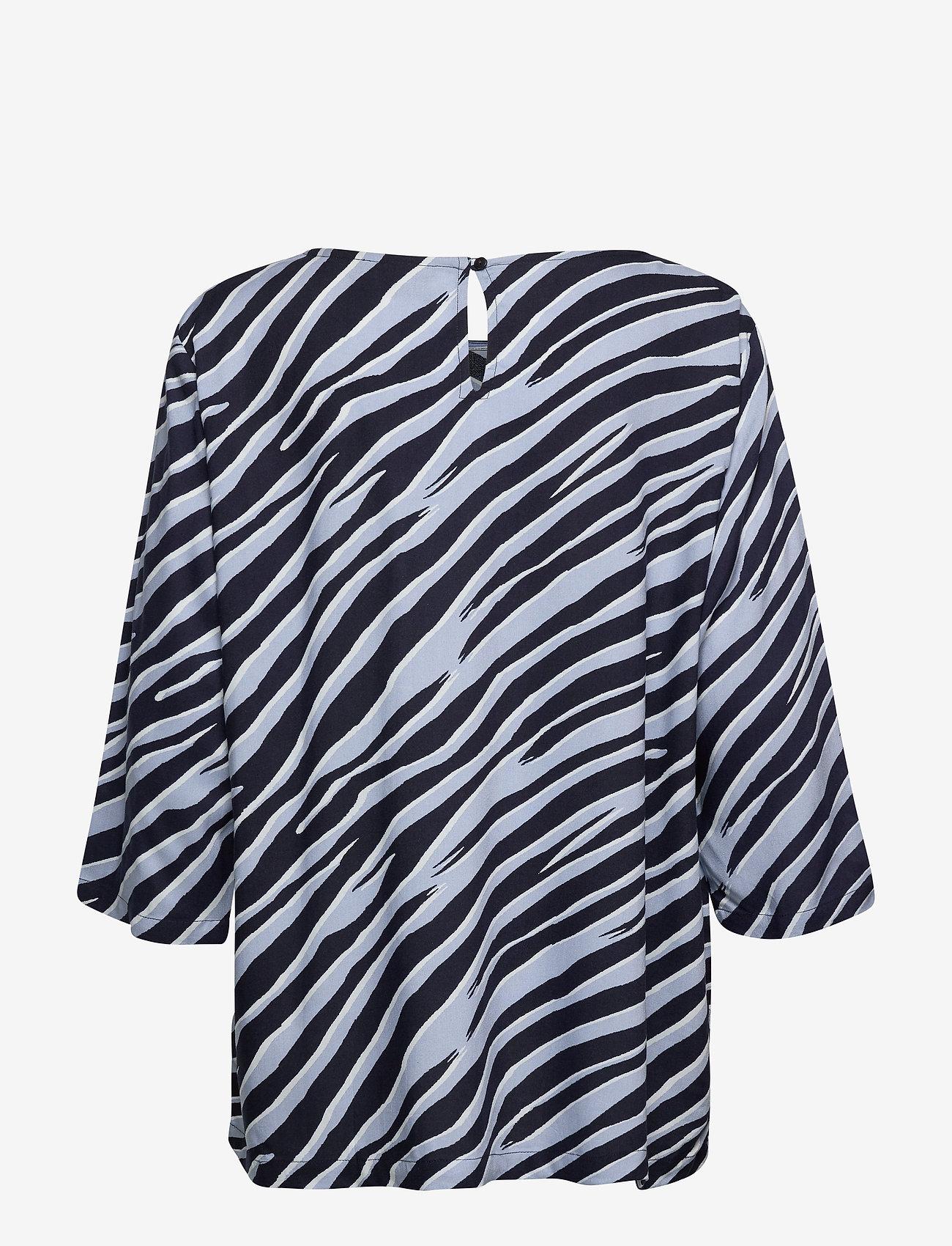 Brandtex Blouse-woven - Bluzki & Koszule MIDNIGHT BLUE - Kobiety Odzież.