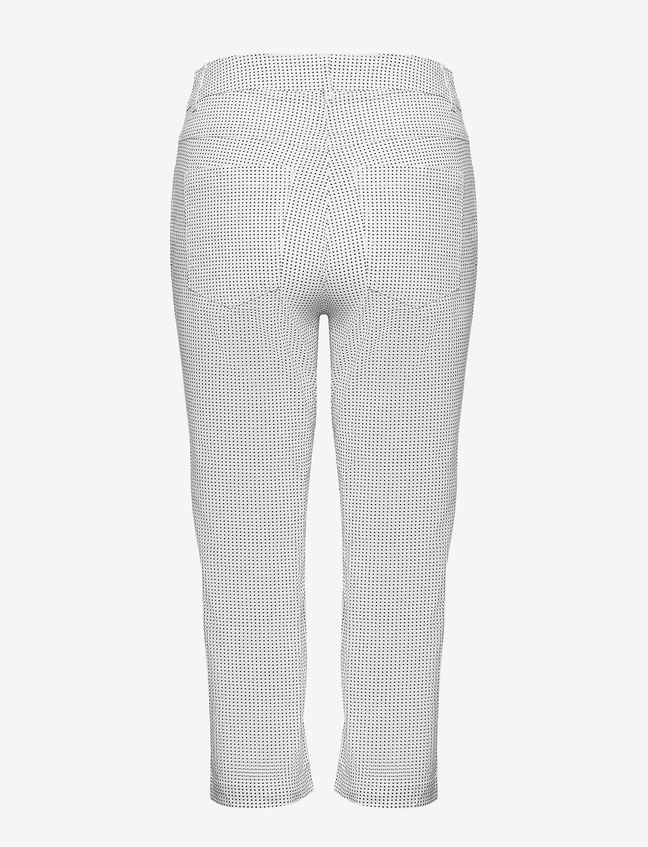 Brandtex Capri Pants - Byxor White