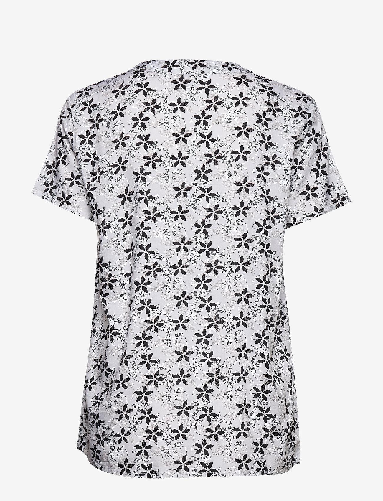 Shirt S/s Woven (Black) (23.97 €) - Brandtex VQvgN