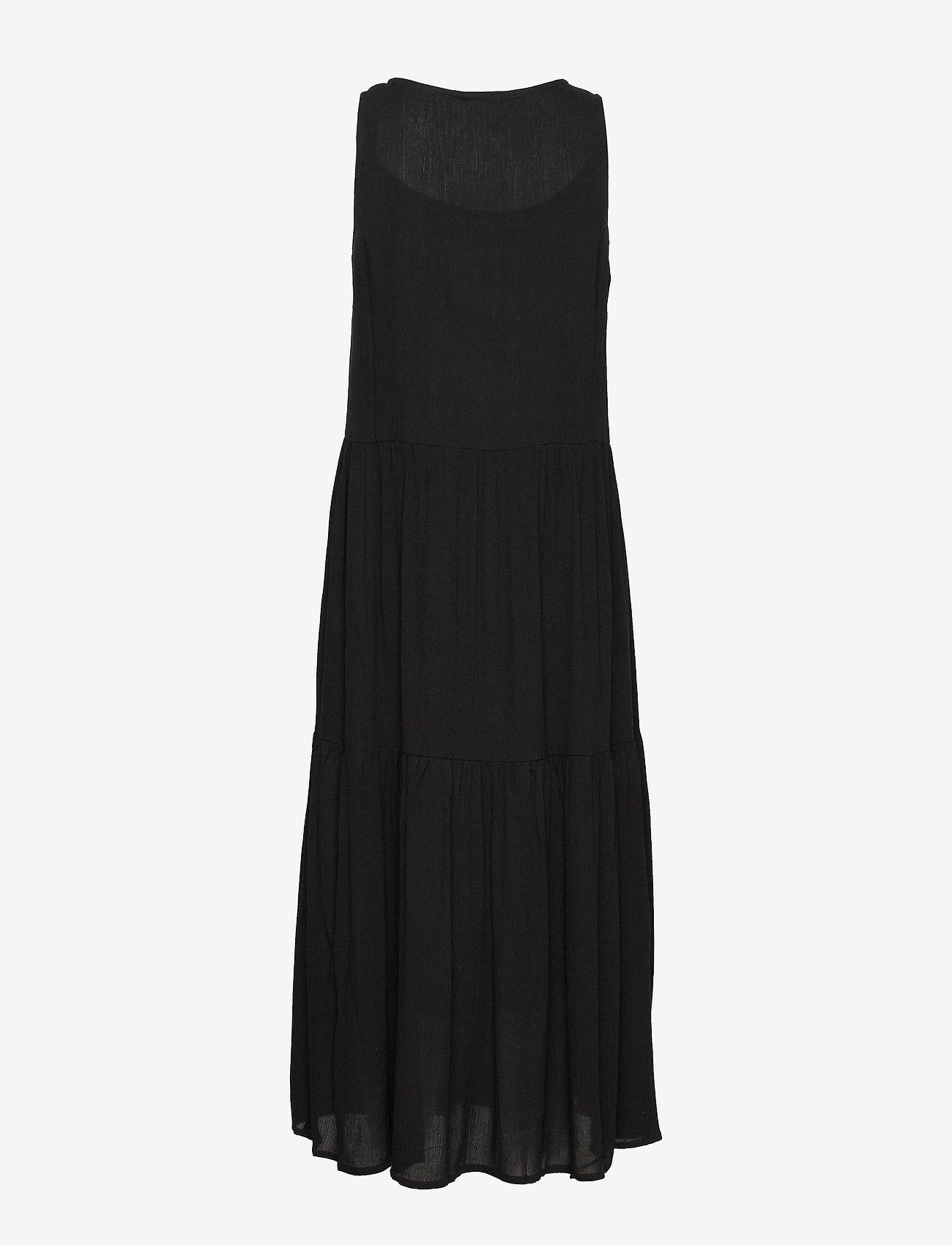 Brandtex Dress-light woven - Sukienki BLACK - Kobiety Odzież.