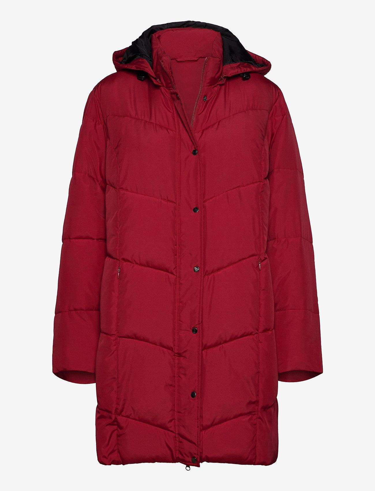 Brandtex - Coat Outerwear Heavy - dynefrakke - red - 0