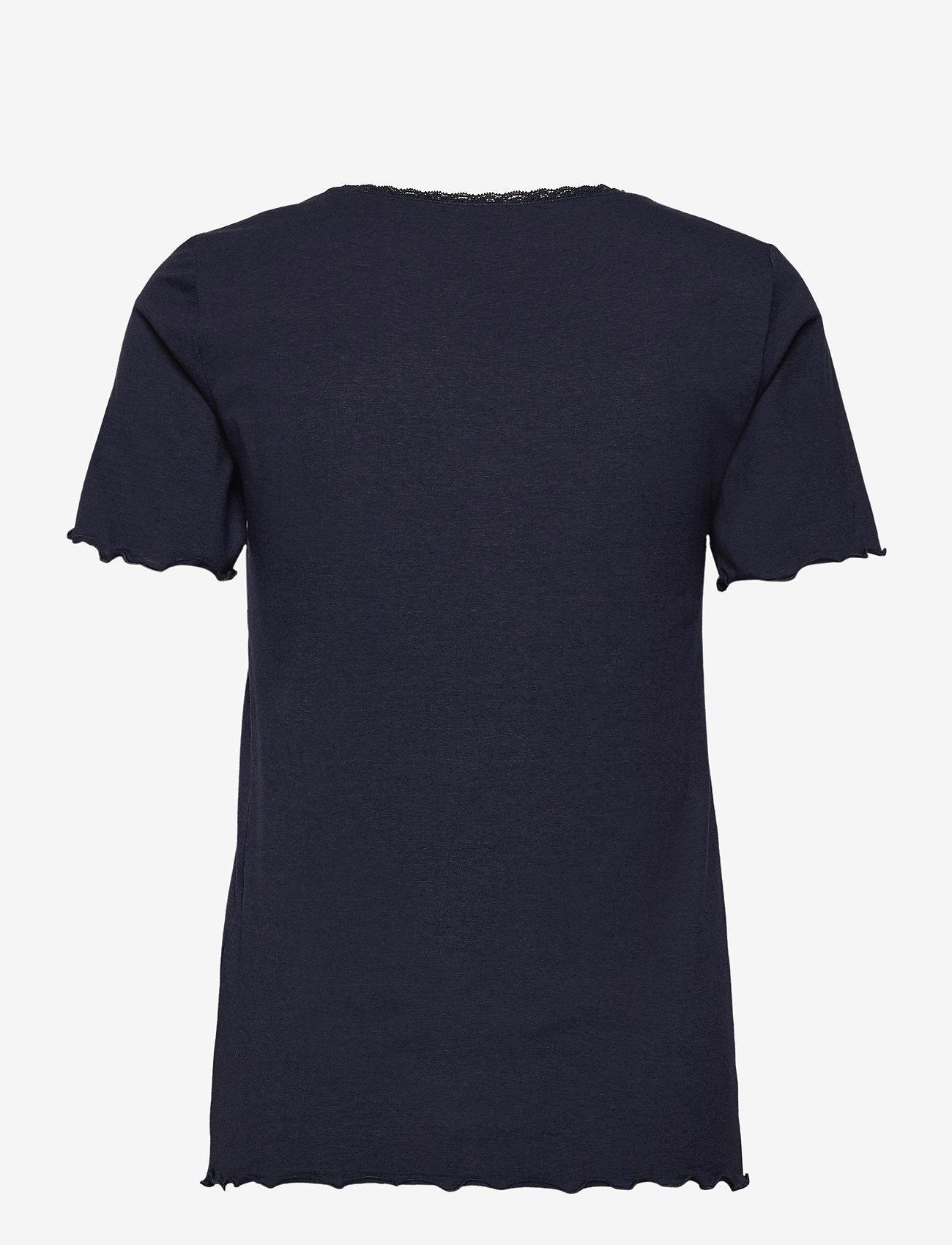 Brandtex - T-shirt s/s - t-shirts - midnight blue - 1