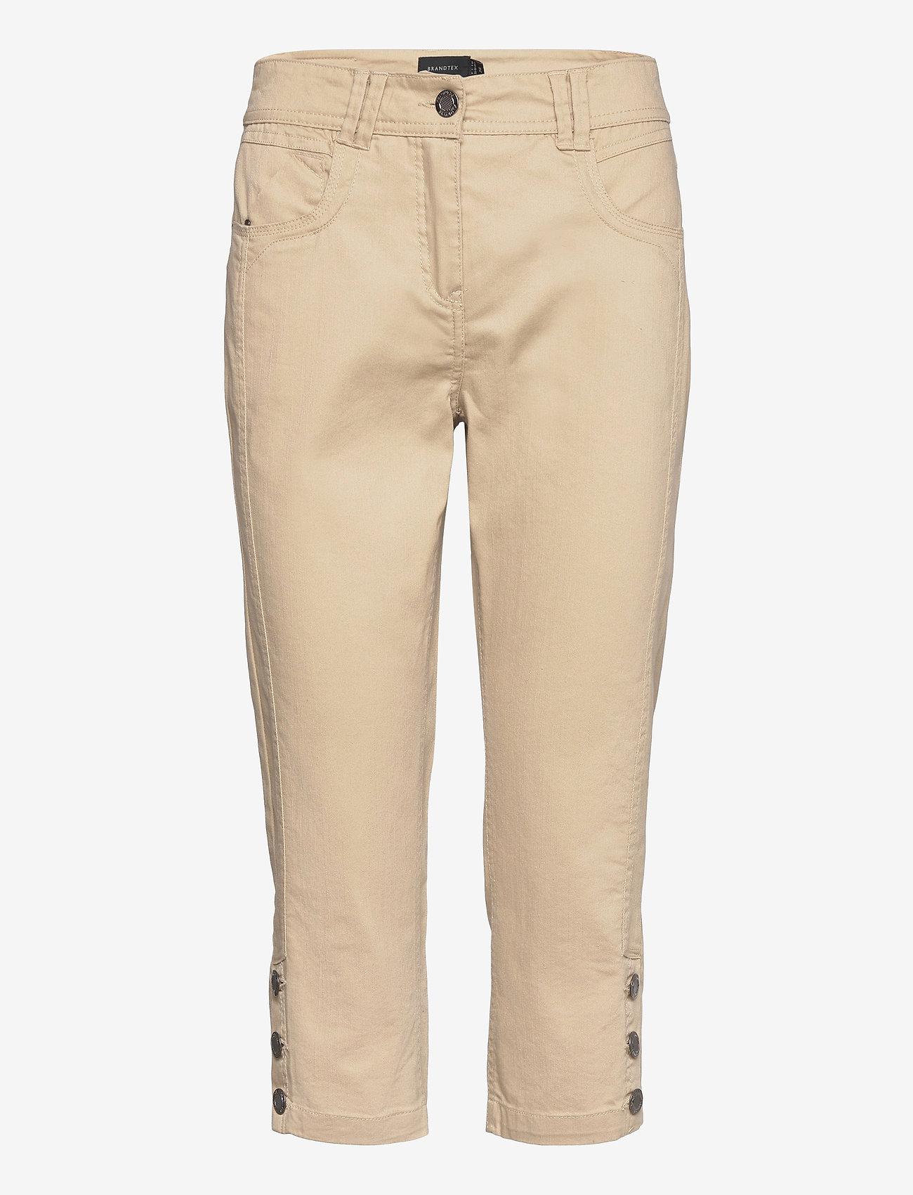 Brandtex - Capri pants - capri bukser - safari - 1