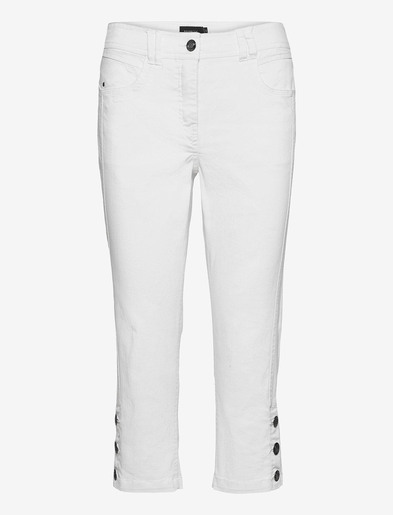 Brandtex - Capri pants - pantalons capri - white - 1