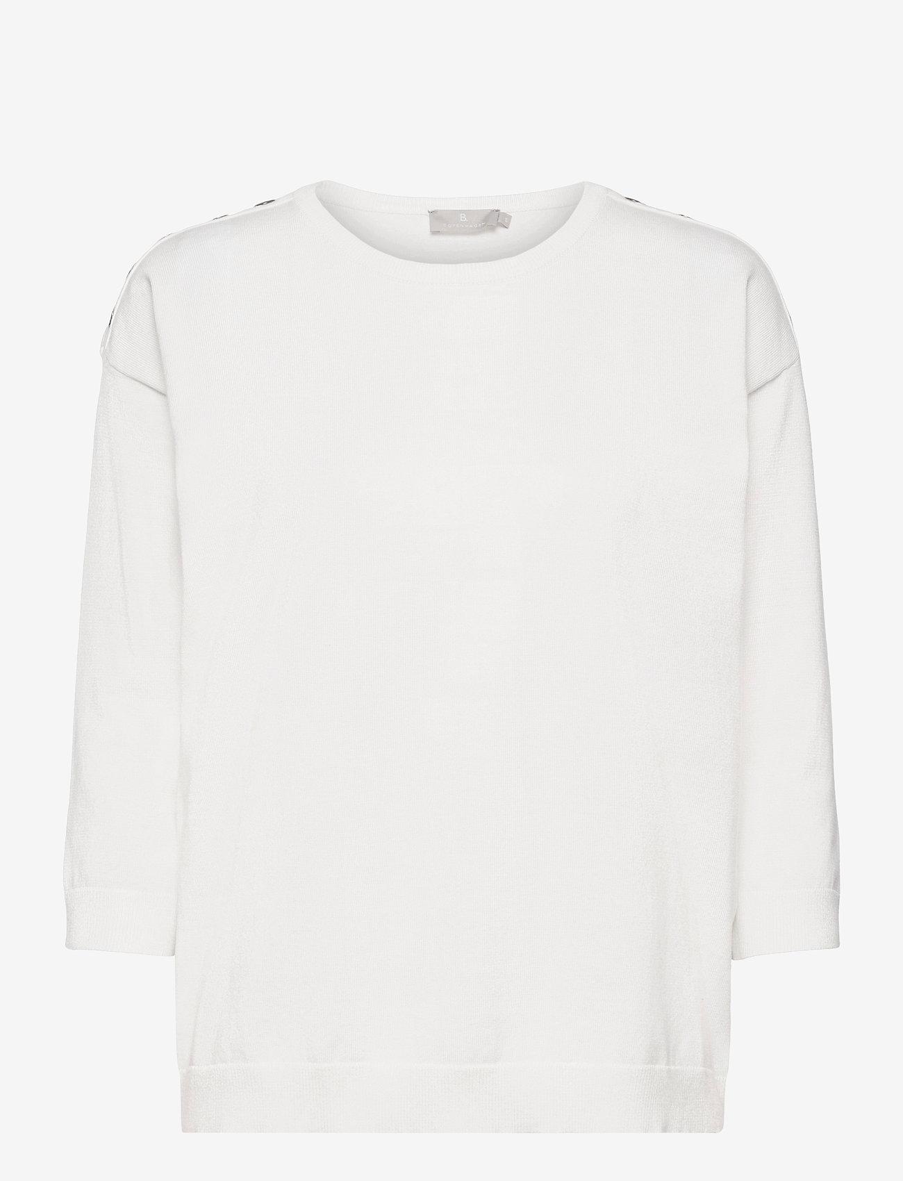 Brandtex - Pullover-knit Light - trøjer - offwhite - 0