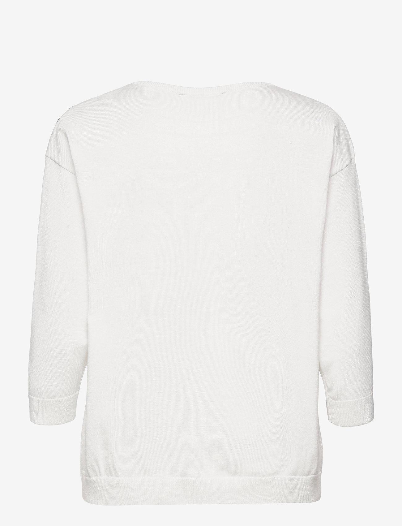 Brandtex - Pullover-knit Light - trøjer - offwhite - 1