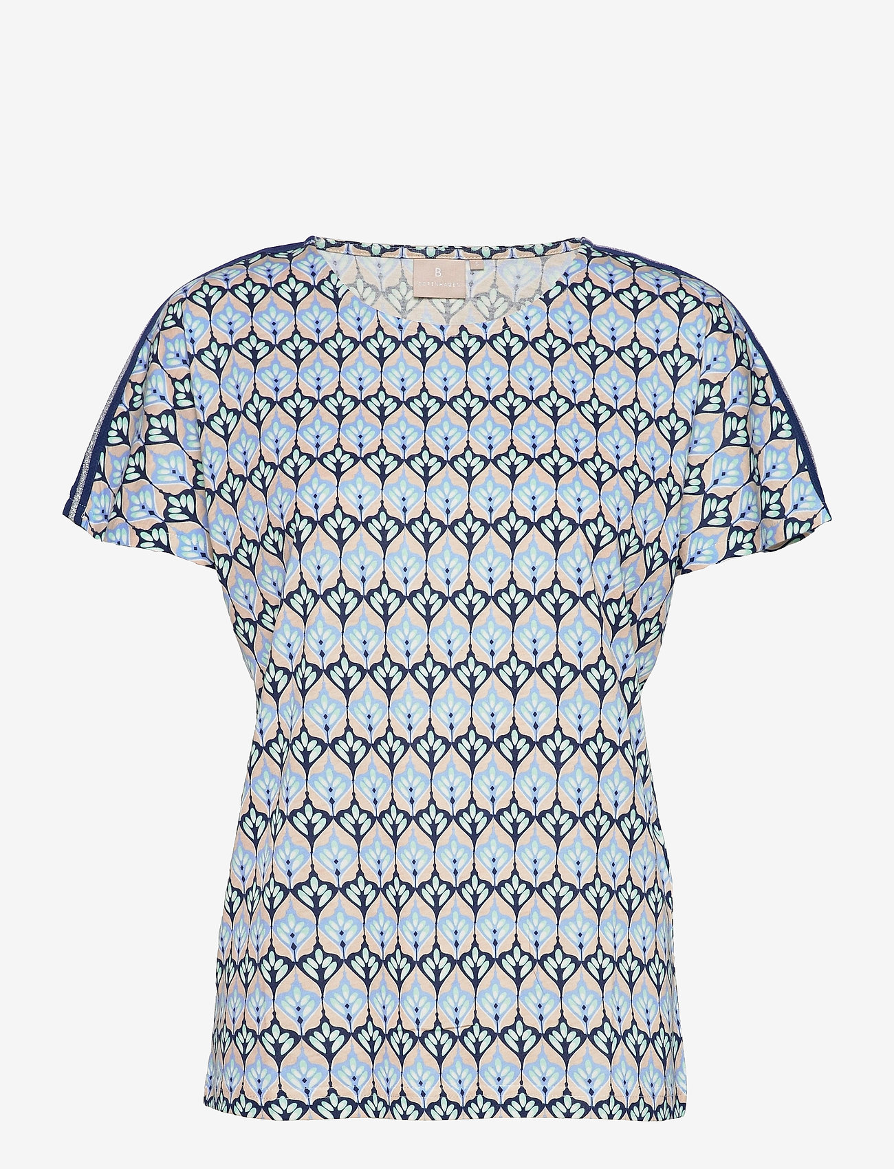 Brandtex - T-shirt s/s - t-shirts - serenity blue - 0