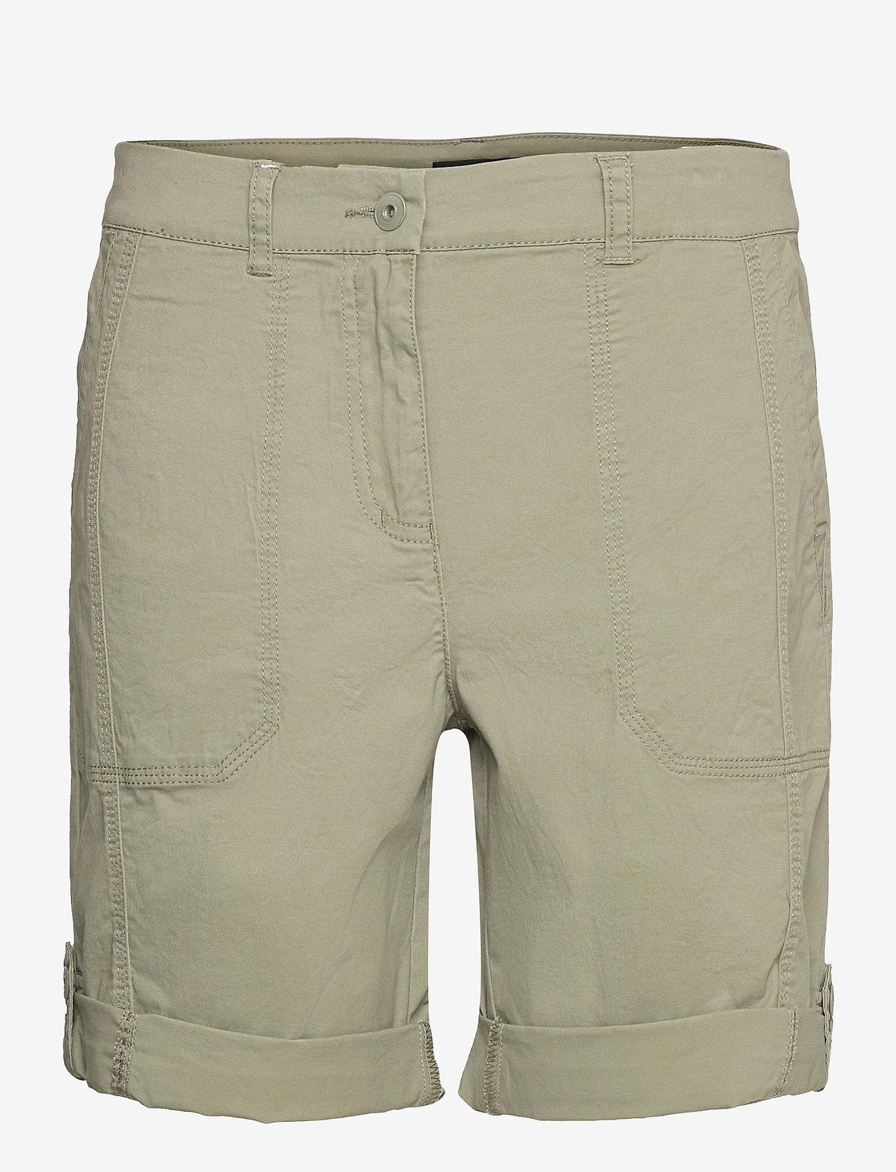 Brandtex - Casual shorts - shorts casual - deep lichen green - 1