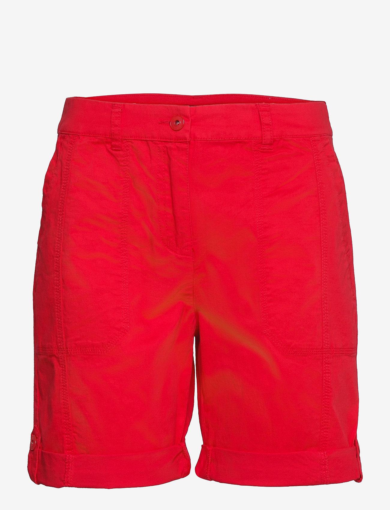 Brandtex - Casual shorts - shorts casual - racing red - 1