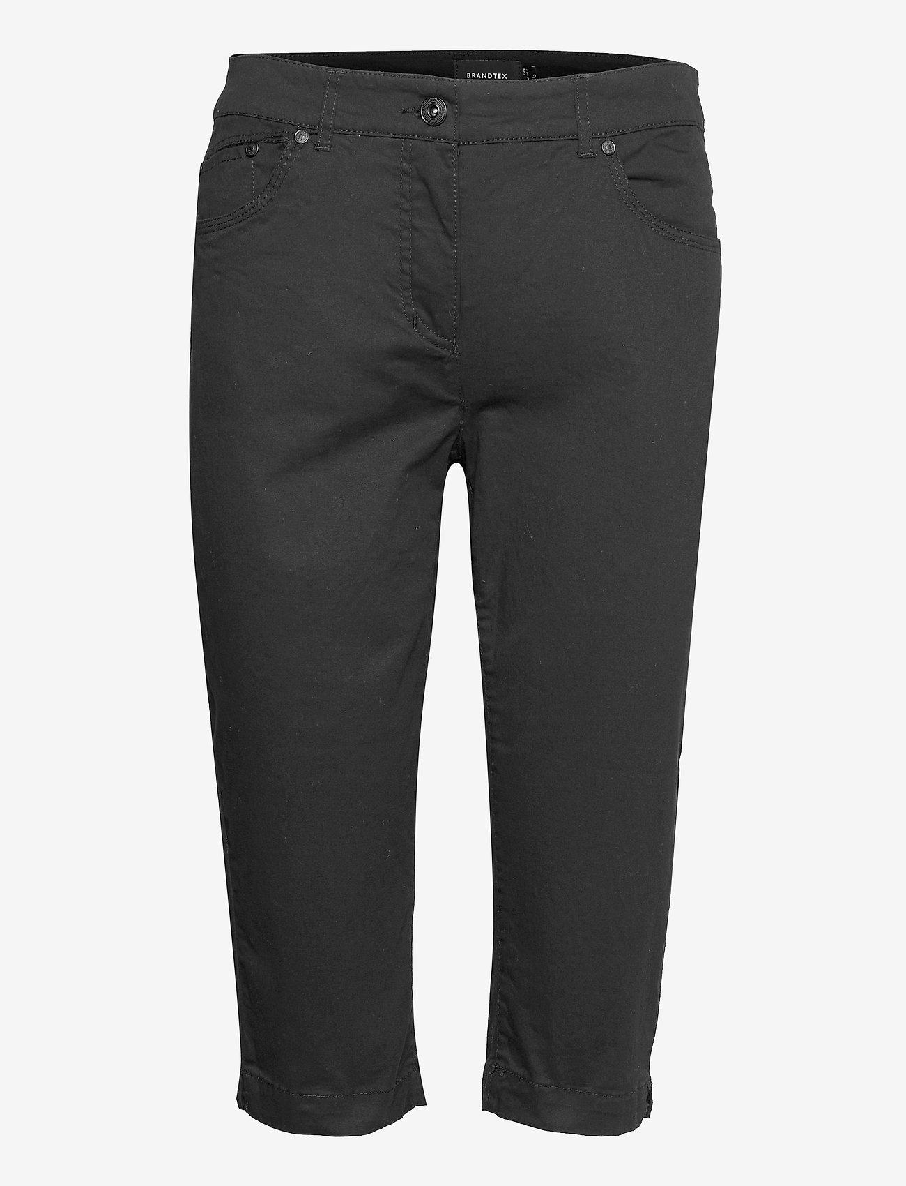 Brandtex - Capri pants - capri bukser - black - 1
