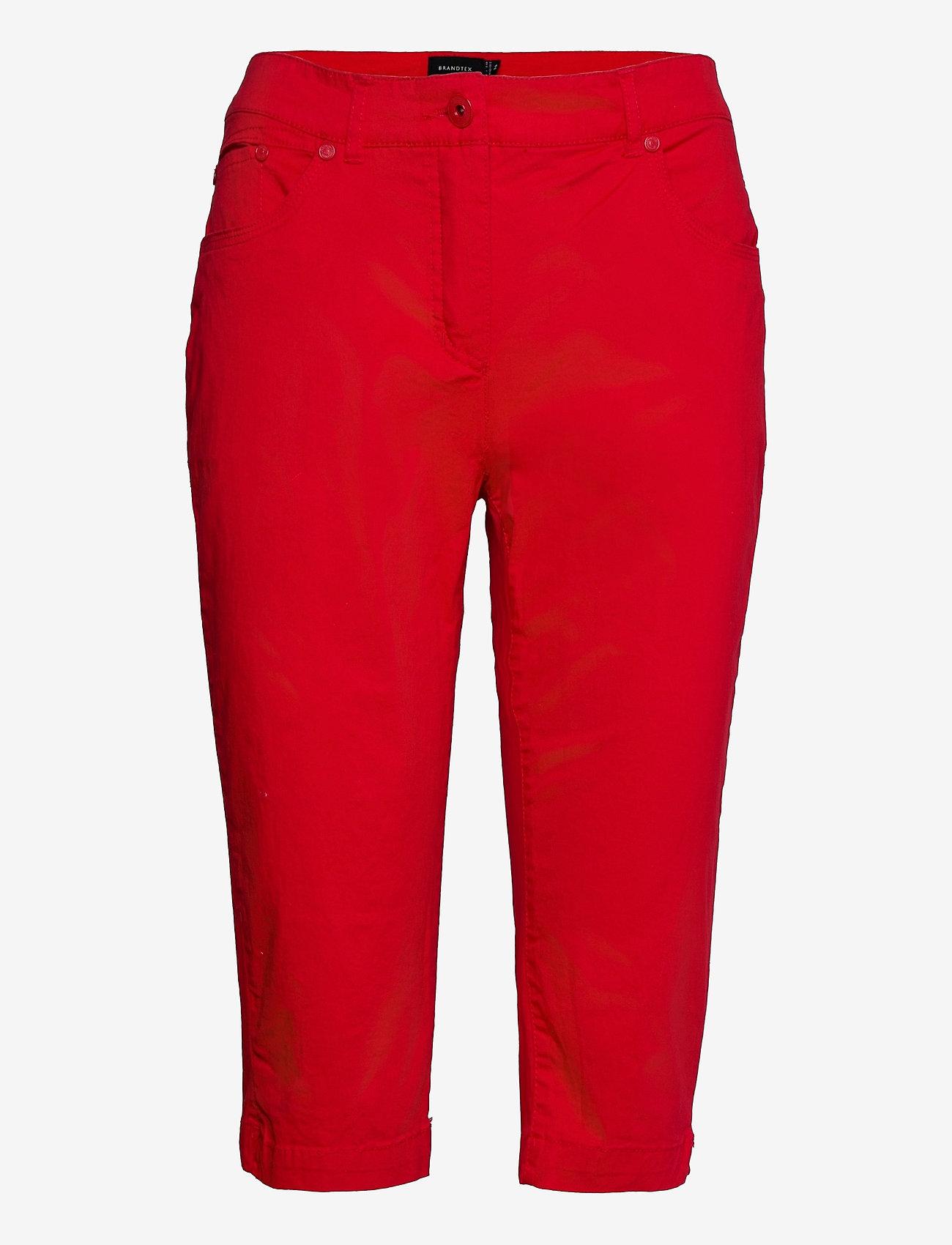 Brandtex - Capri pants - pantalons capri - racing red - 1