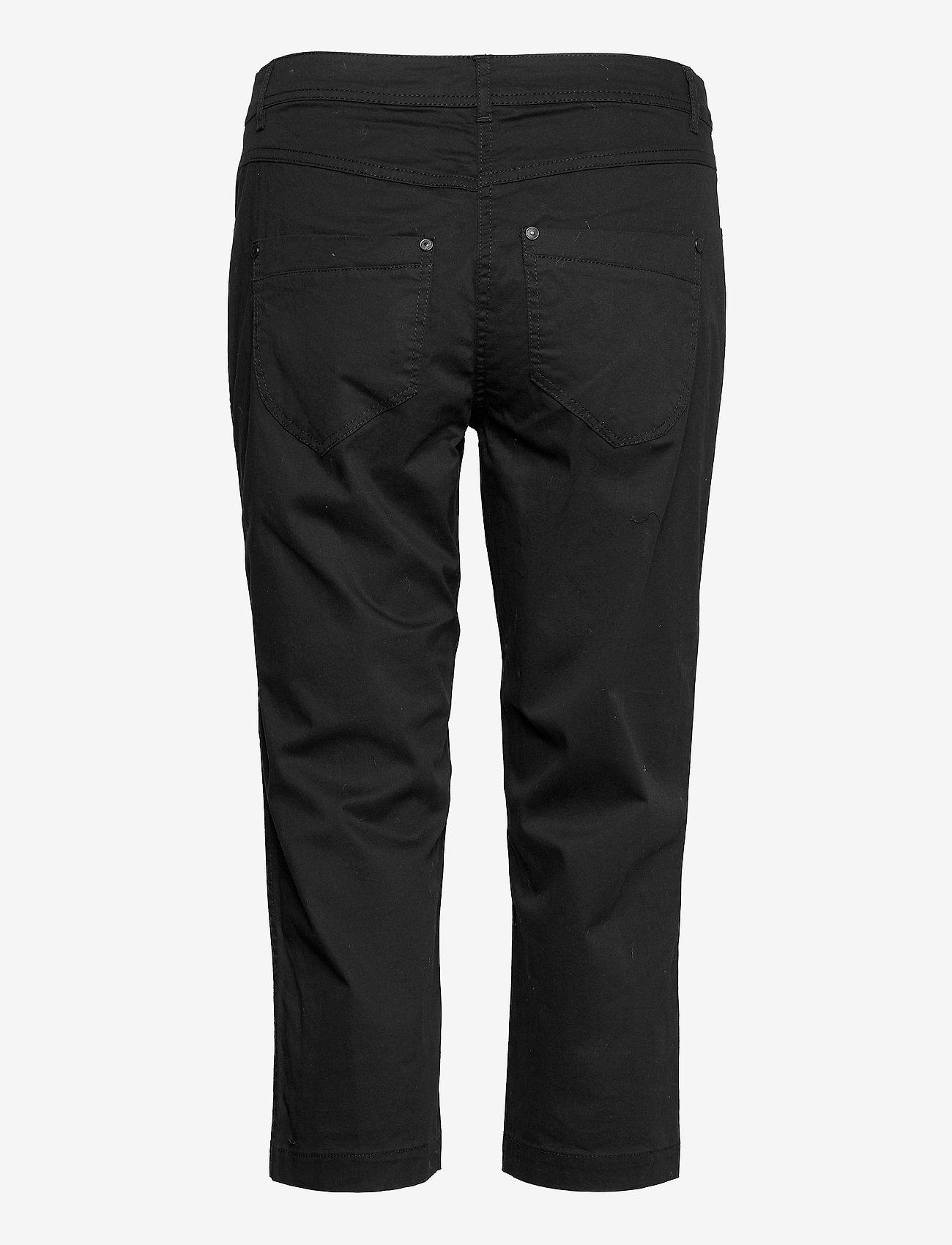 Brandtex - Capri pants - pantalons capri - black - 1