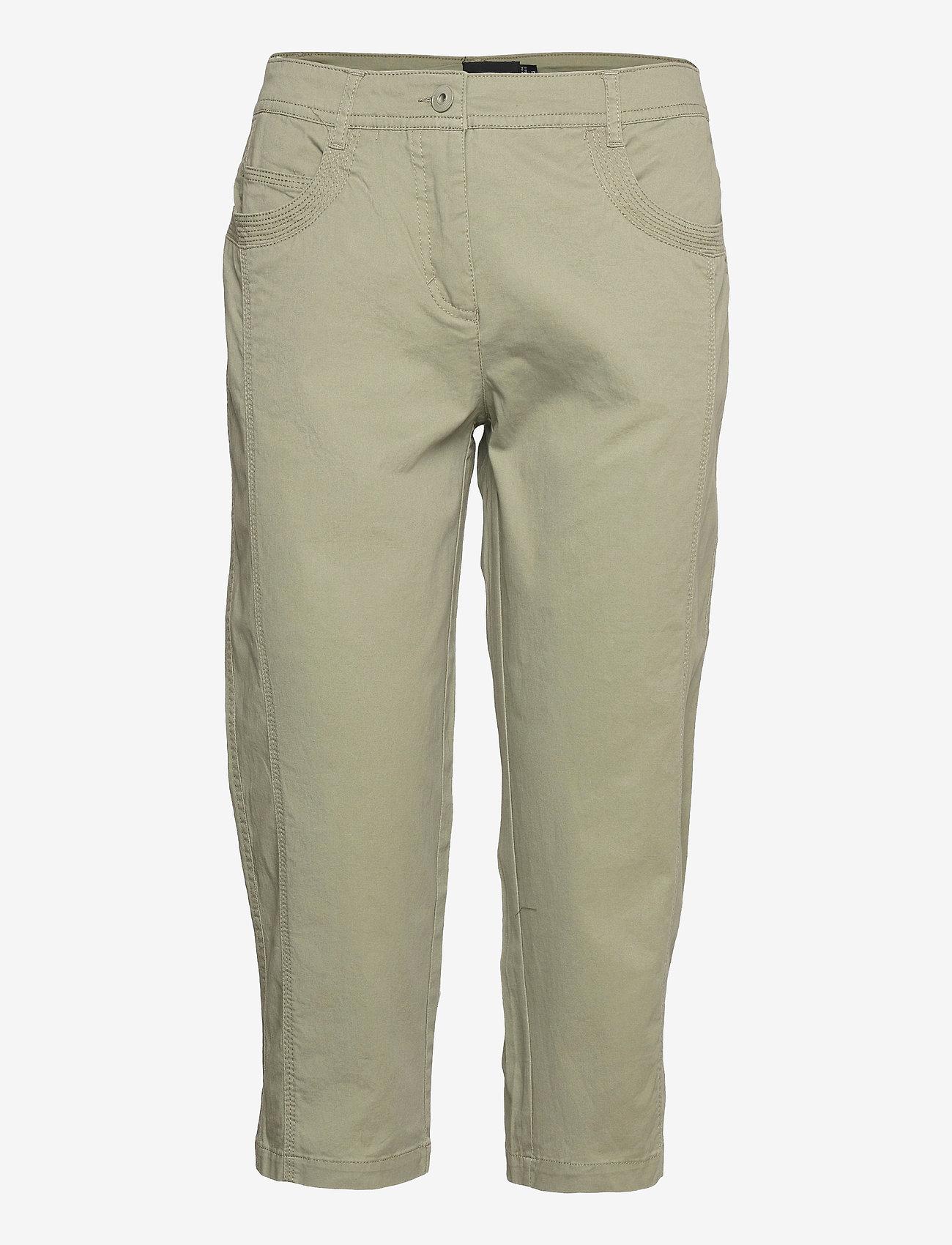 Brandtex - Capri pants - capri bukser - deep lichen green - 0