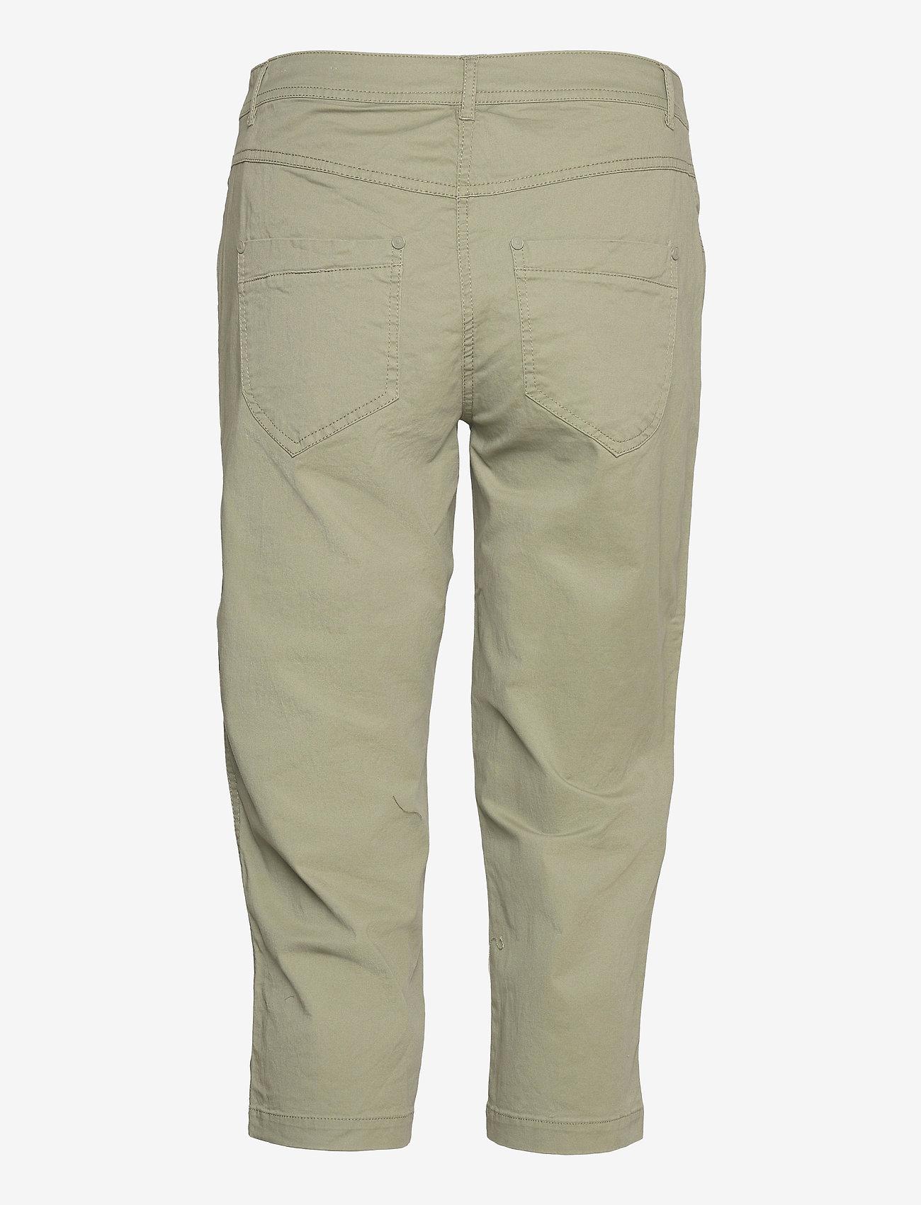Brandtex - Capri pants - capri bukser - deep lichen green - 1