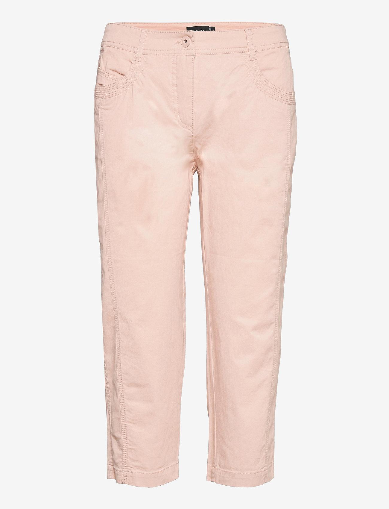 Brandtex - Capri pants - capri bukser - pale blush - 0