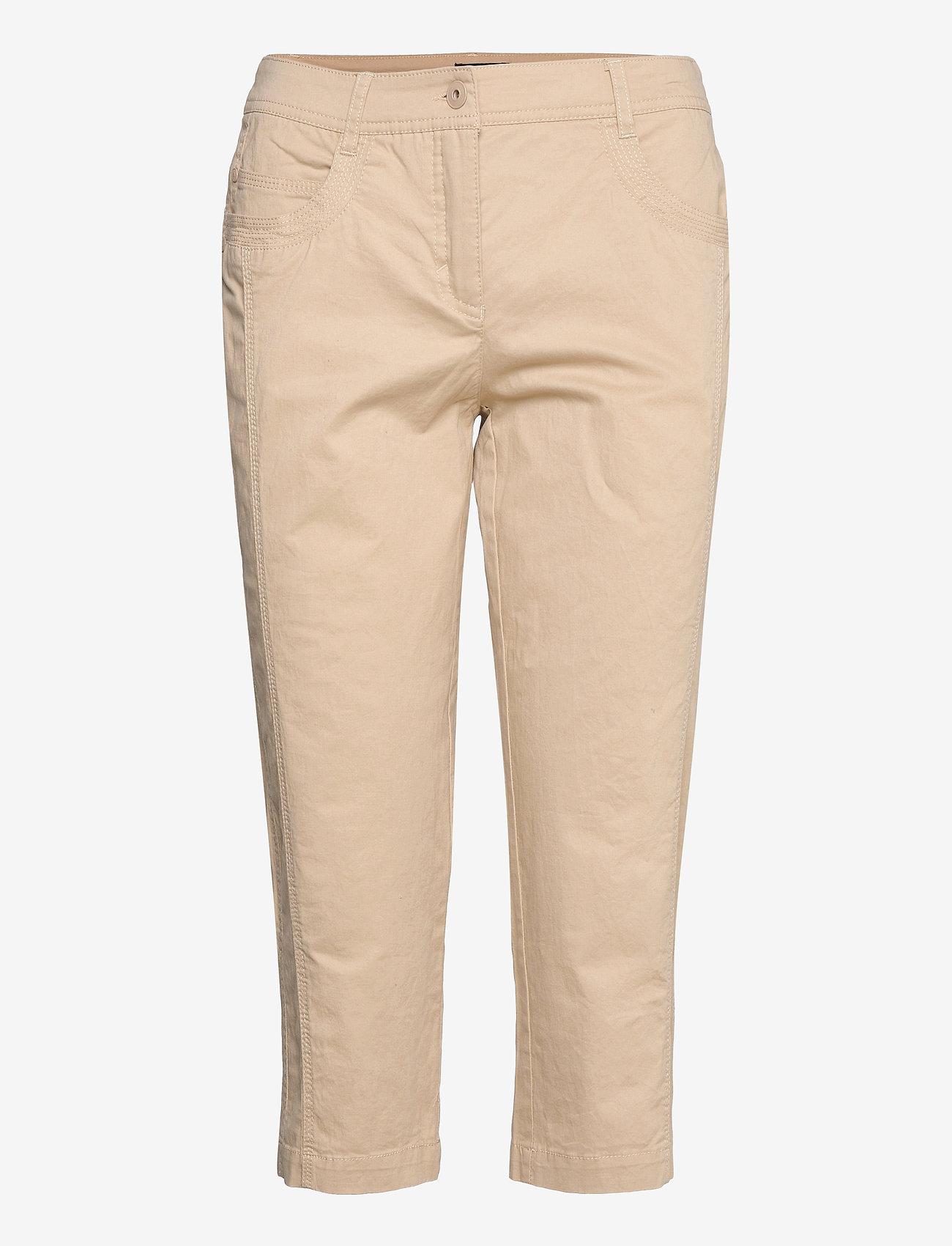 Brandtex - Capri pants - capri bukser - safari - 0