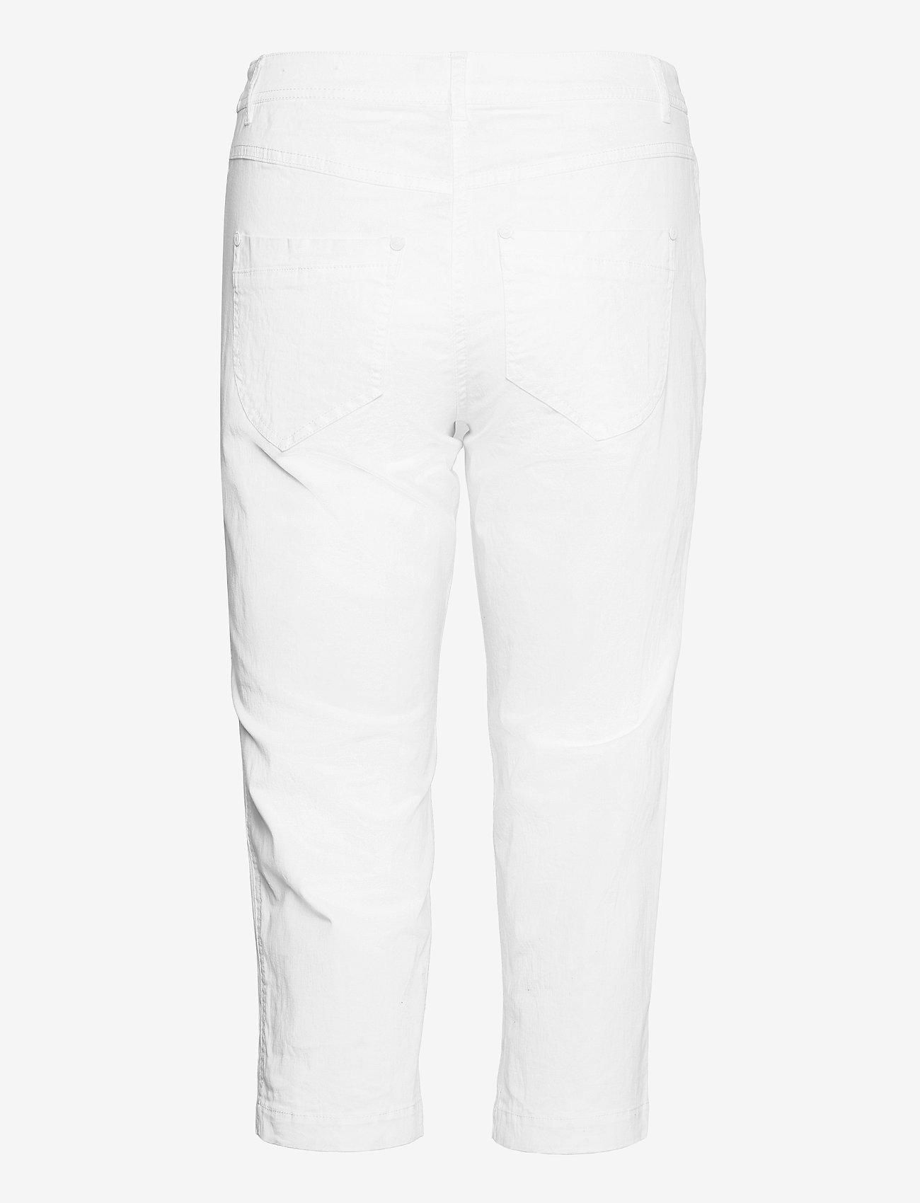 Brandtex - Capri pants - capri bukser - white - 1