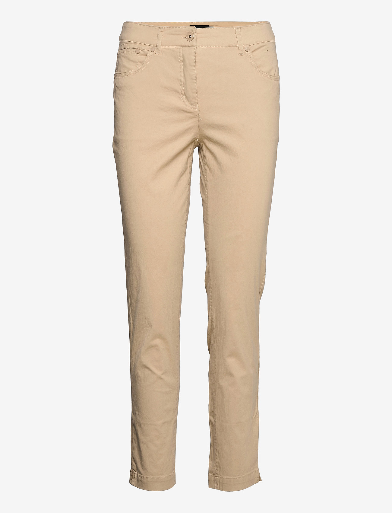 Brandtex - Casual pants - slim fit bukser - safari - 1