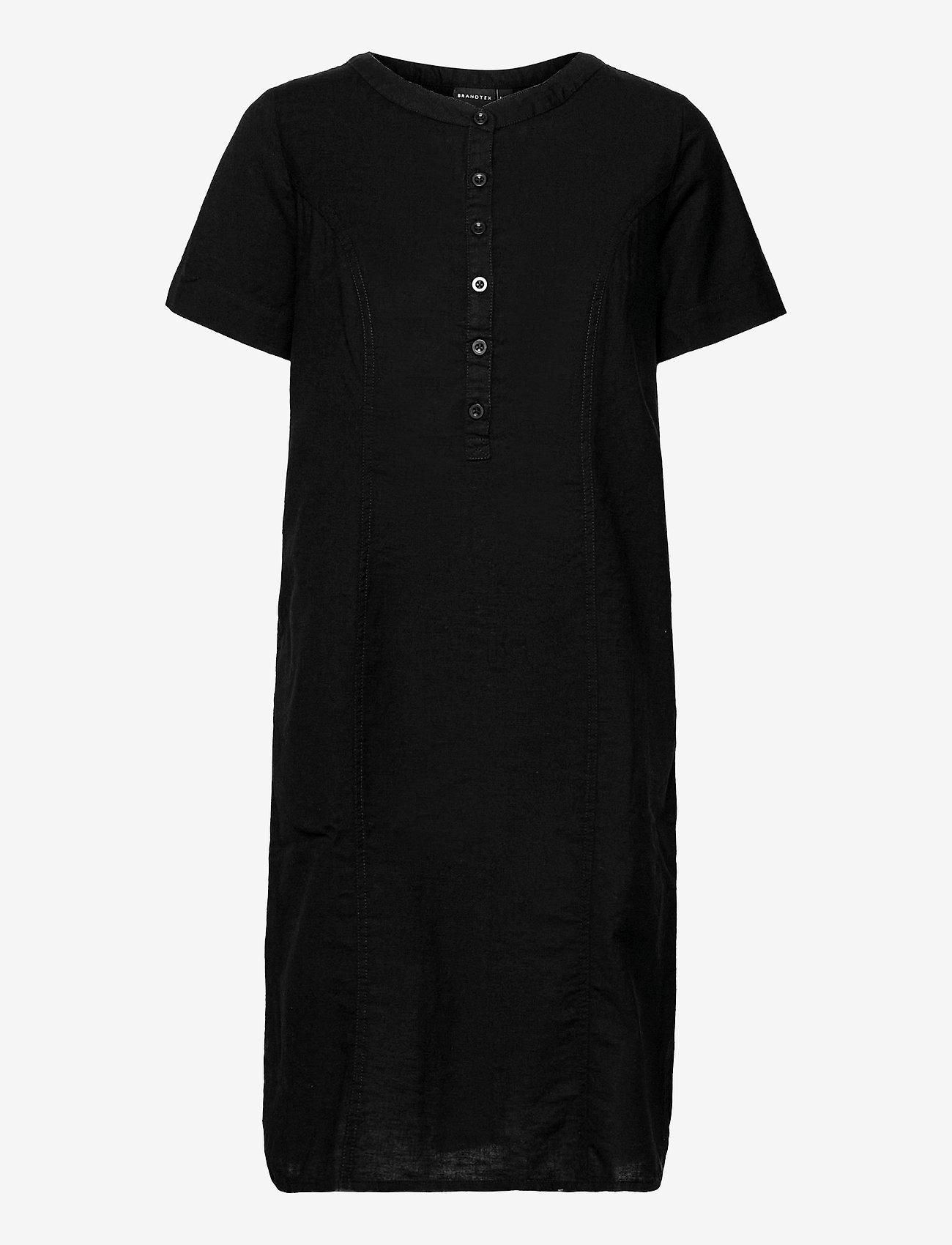 Brandtex - Casual dress - sommerkjoler - black - 1